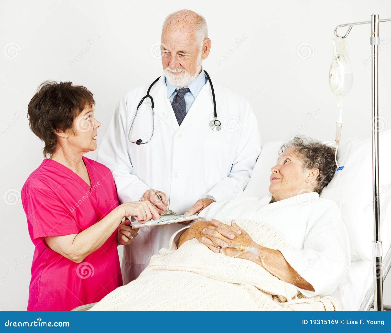 Discuter le progrès patient