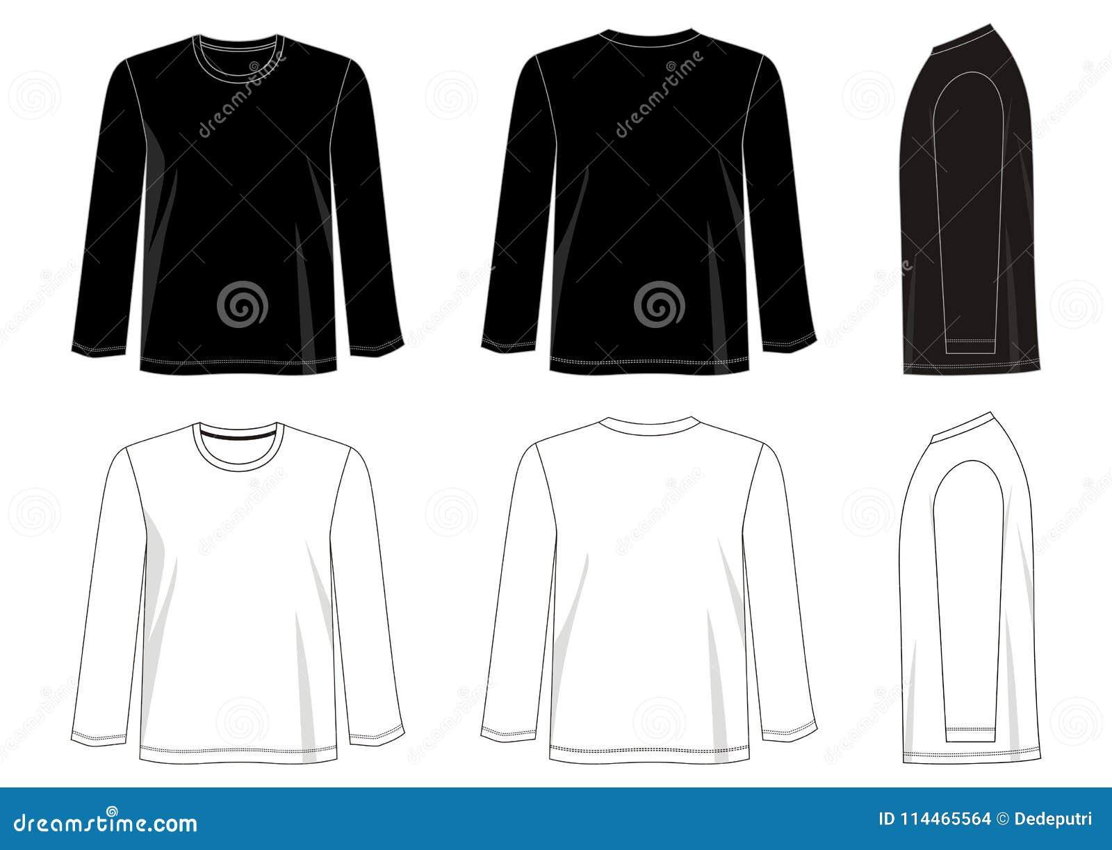 Increíble Plantilla De Camiseta Atrás Ilustración - Ejemplo De ...