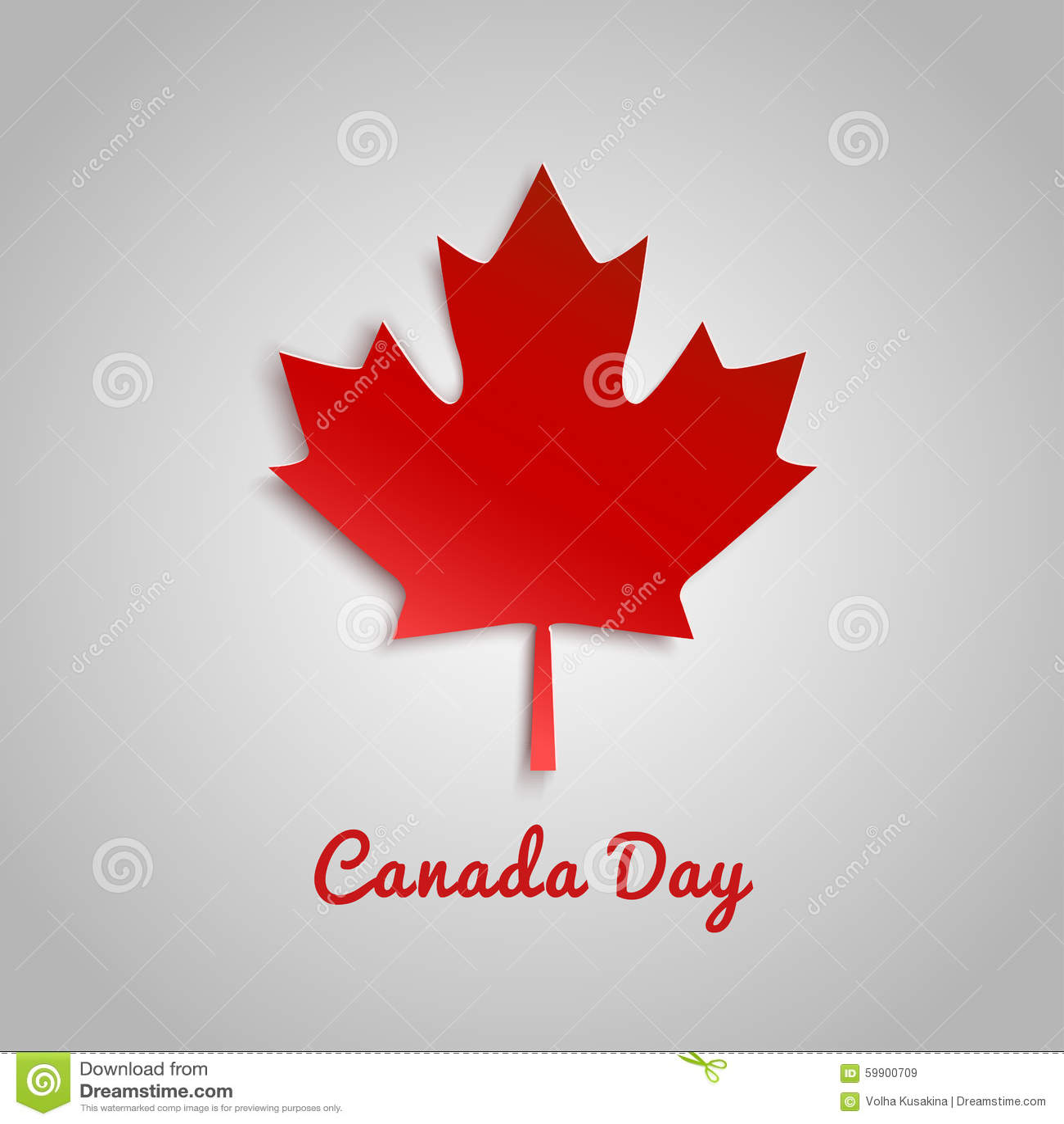 Diseñe una bandera para el día de Canadá el 1 de julio