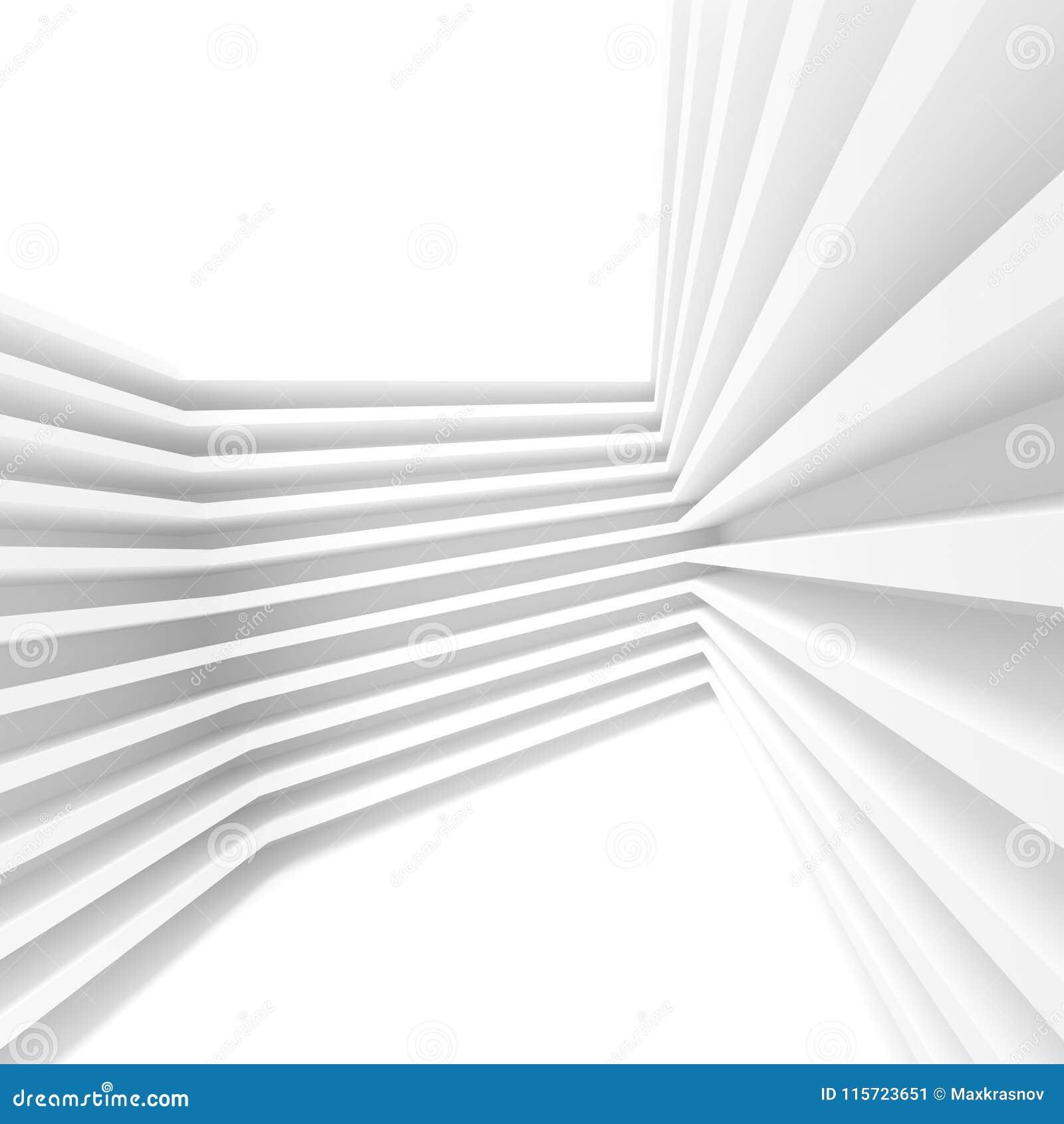 Diseño abstracto de la configuración Fondo moderno blanco B mínimo