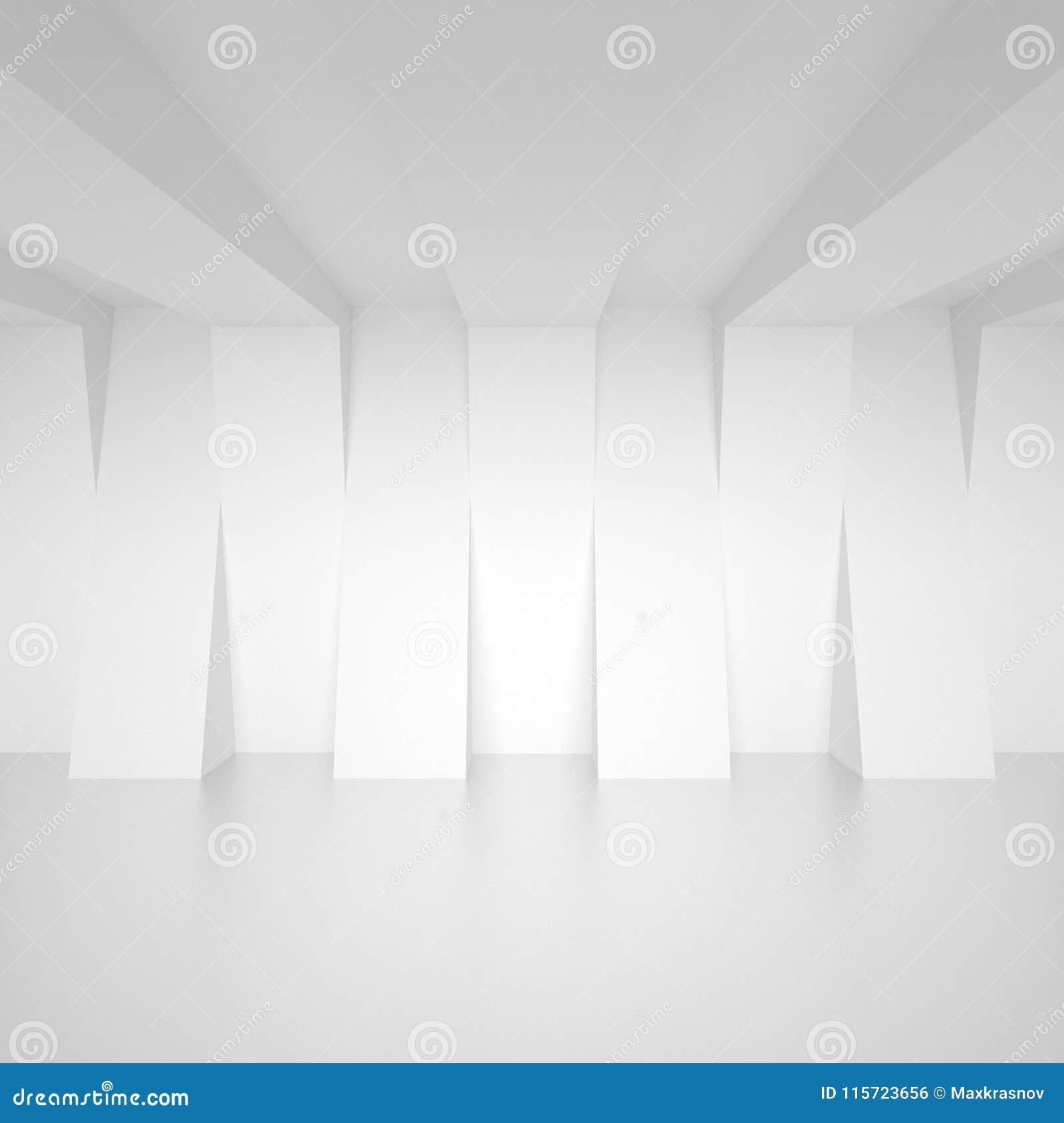 Diseño abstracto de la configuración Fondo moderno mínimo Blanco I