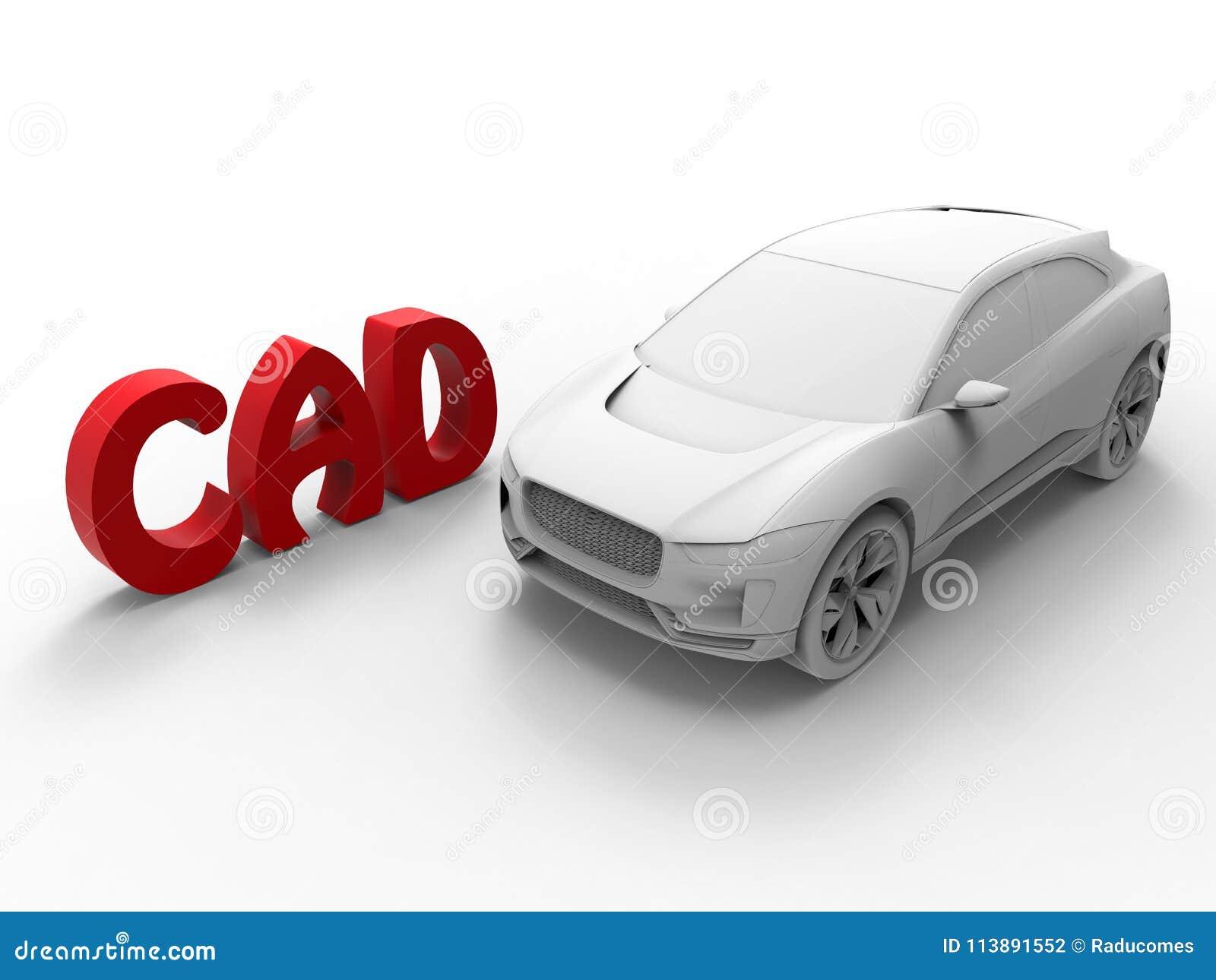 Diseño automatizado - concepto del coche