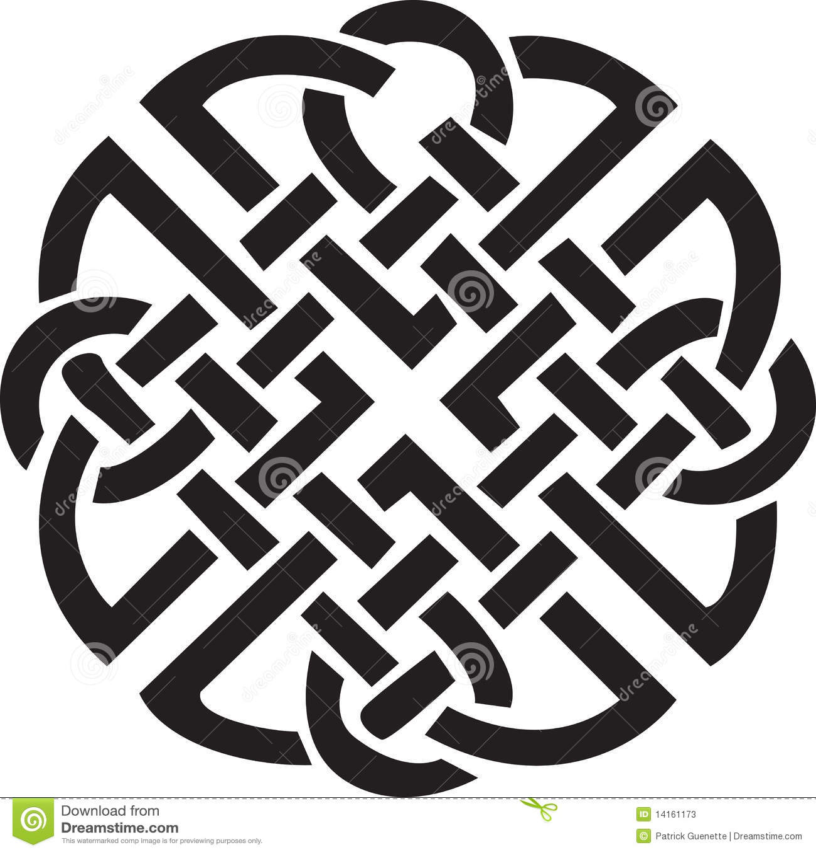 Diseño céltico irlandés
