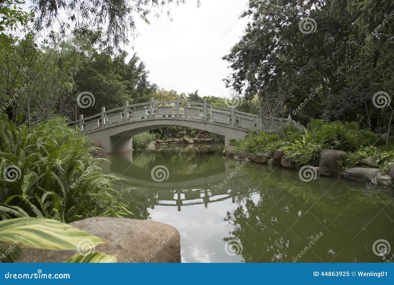 Diseño chino del jardín