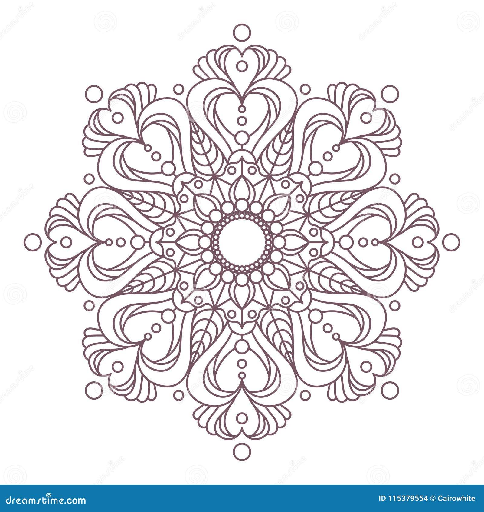 Perfecto Mandala Complejo Para Colorear Imprimible Inspiración ...
