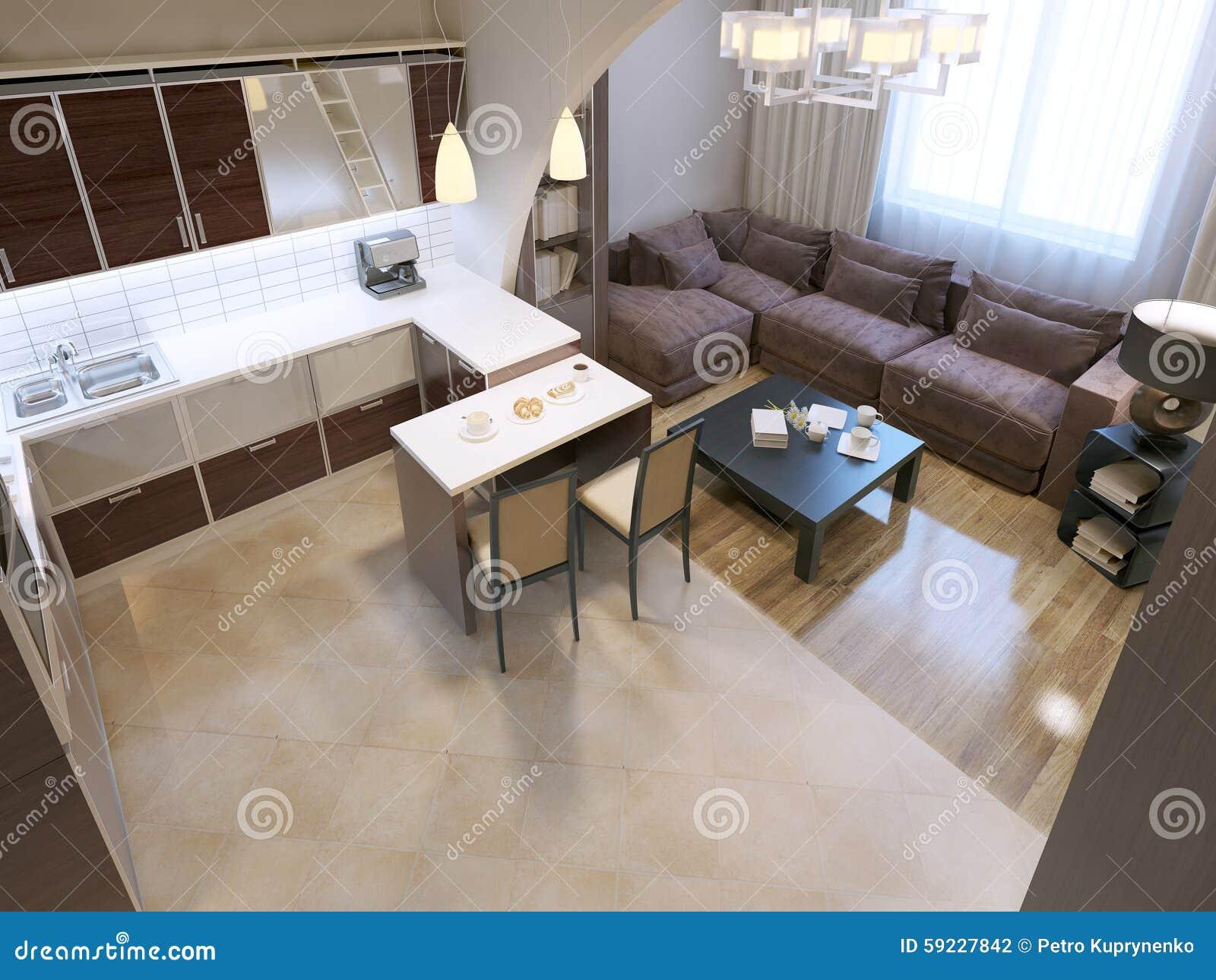 Download Diseño De Acrílico Moderno De La Cocina Stock de ilustración - Ilustración de silla, negro: 59227842