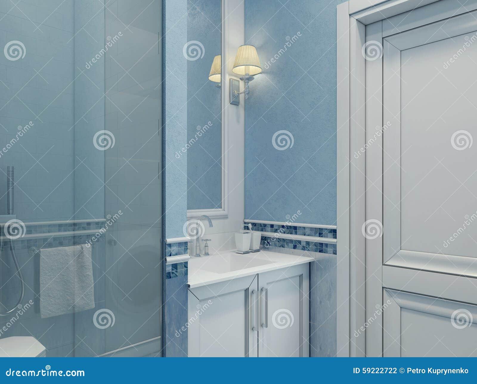 Diseño De Cuarto De Baño Moderno Foto de archivo - Imagen de ...