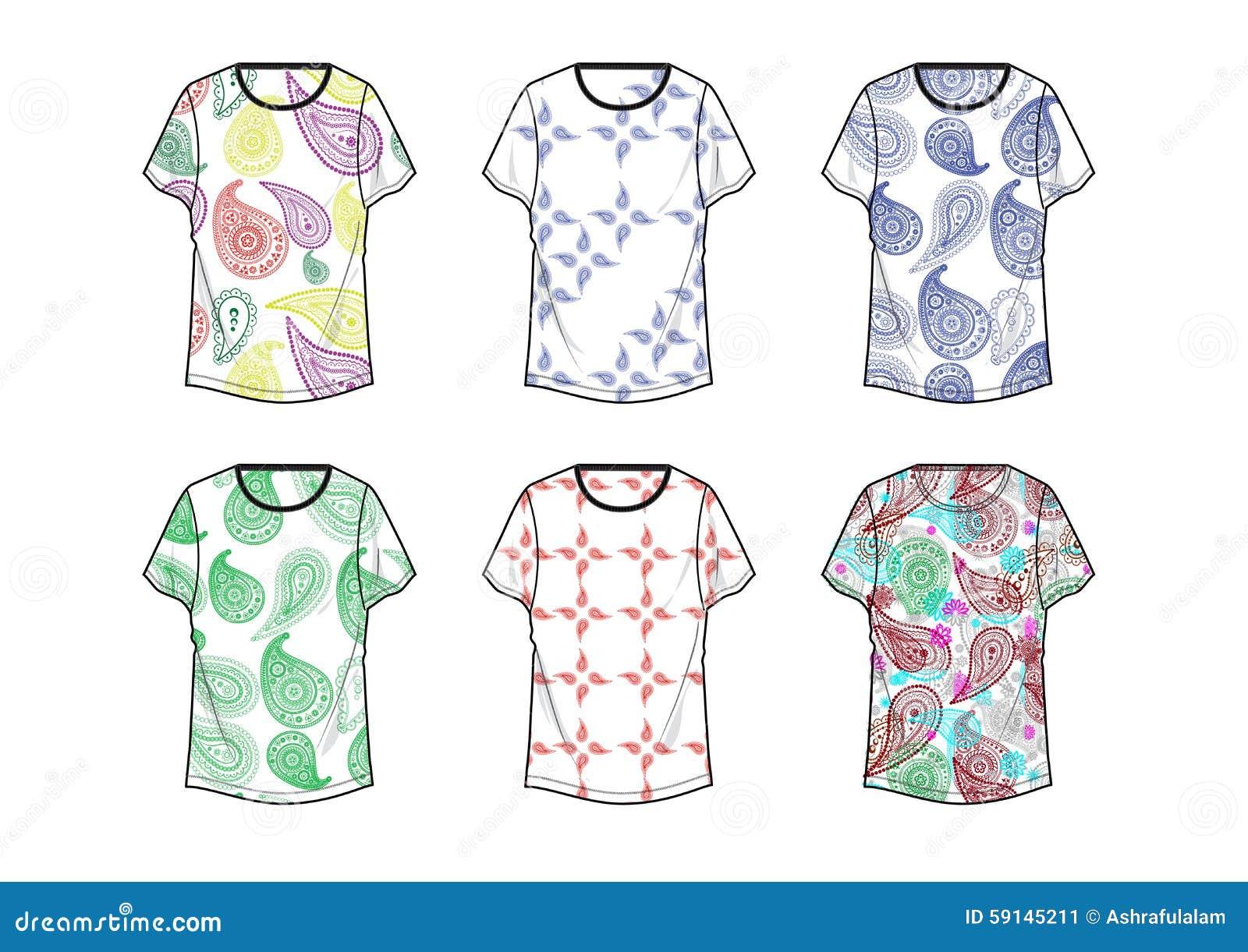 Dise o de kolka de la camiseta para la plantilla de la for Diseno de ropa