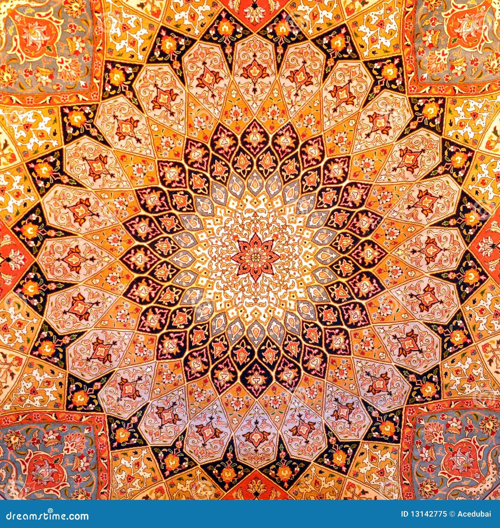 dise o de la alfombra persa imagen de archivo imagen