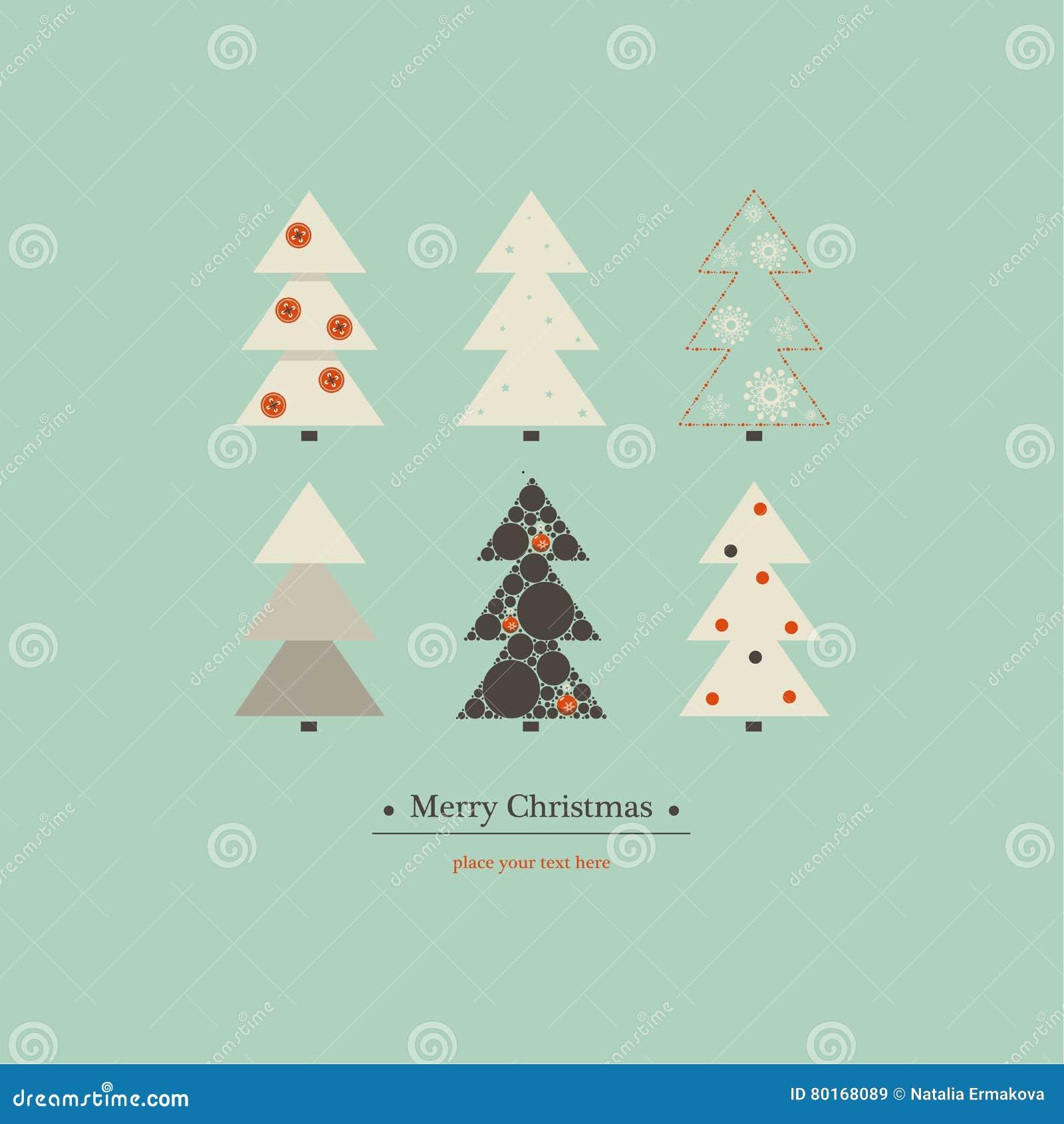 Diseño de la cubierta para la Feliz Navidad