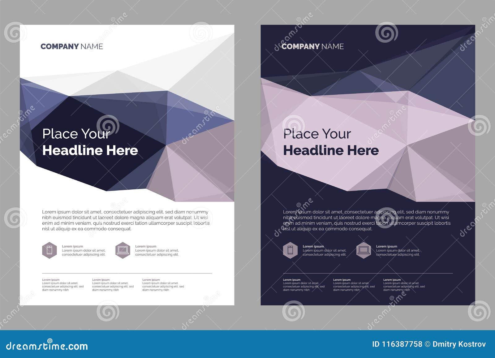 Diseño de la disposición del folleto