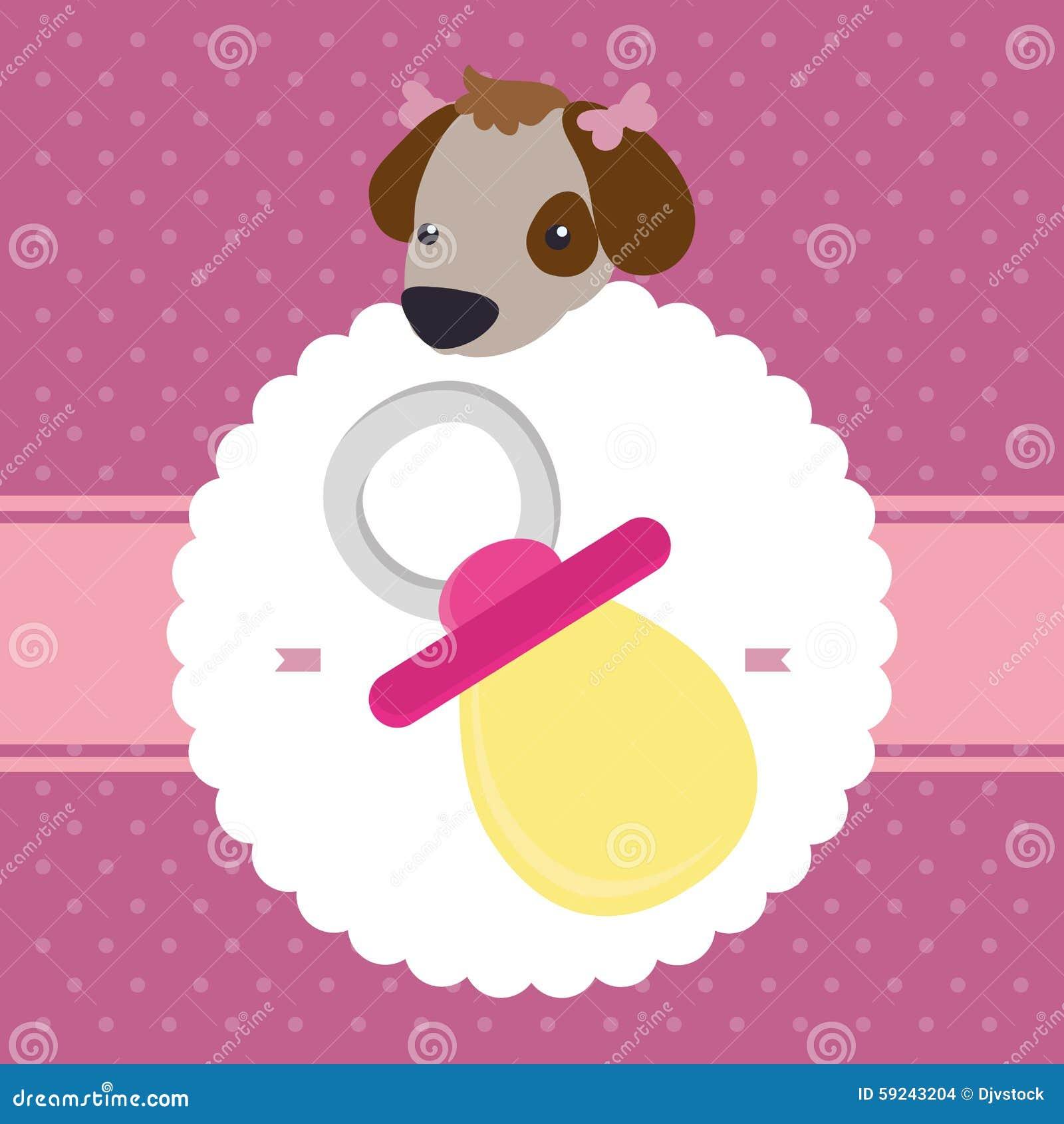 Download Diseño De La Fiesta De Bienvenida Al Bebé Ilustración del Vector - Ilustración de diseño, celebre: 59243204