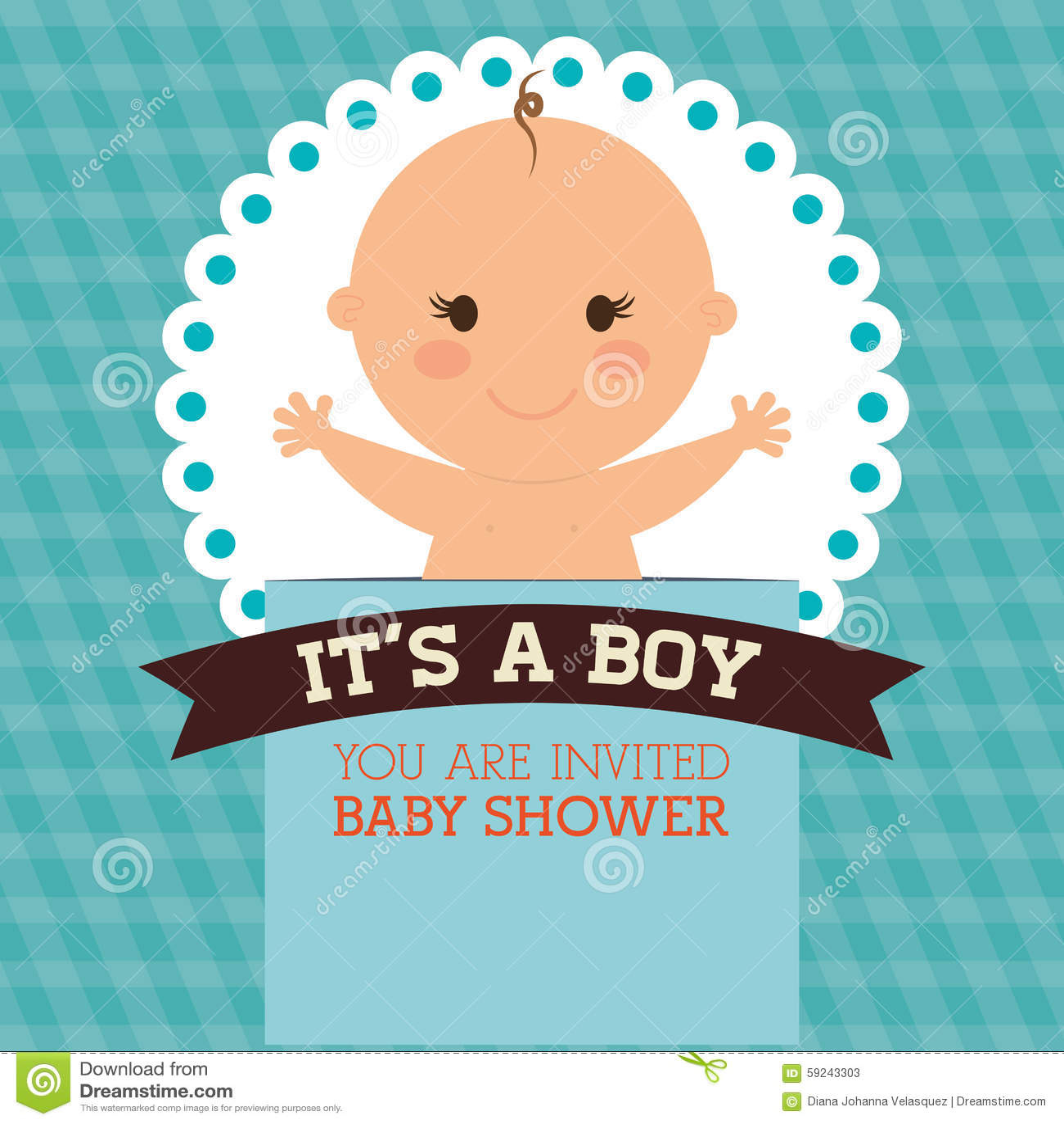 Download Diseño De La Fiesta De Bienvenida Al Bebé Ilustración del Vector - Ilustración de divertido, nacimiento: 59243303