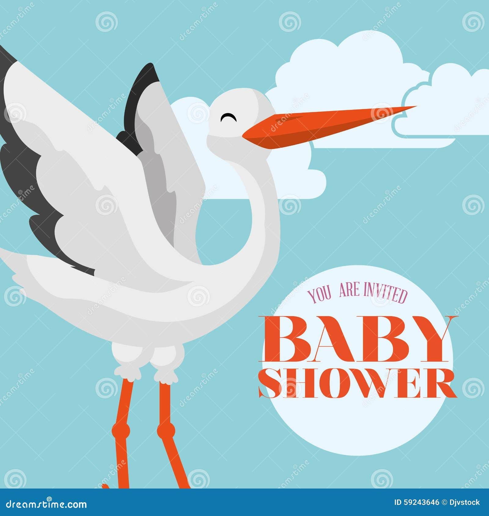 Download Diseño De La Fiesta De Bienvenida Al Bebé Ilustración del Vector - Ilustración de gráfico, feliz: 59243646
