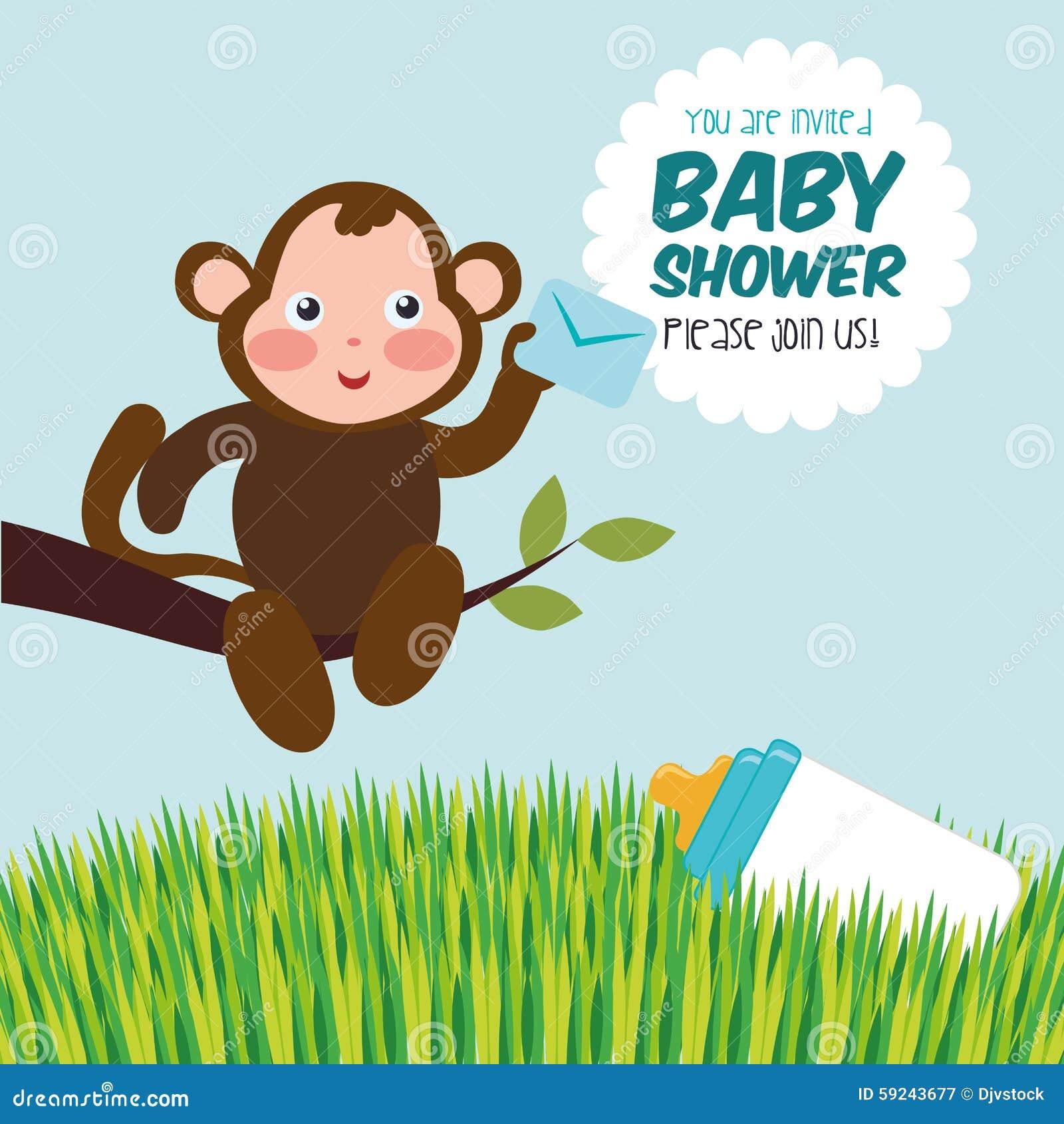 Download Diseño De La Fiesta De Bienvenida Al Bebé Ilustración del Vector - Ilustración de sobre, gráfico: 59243677