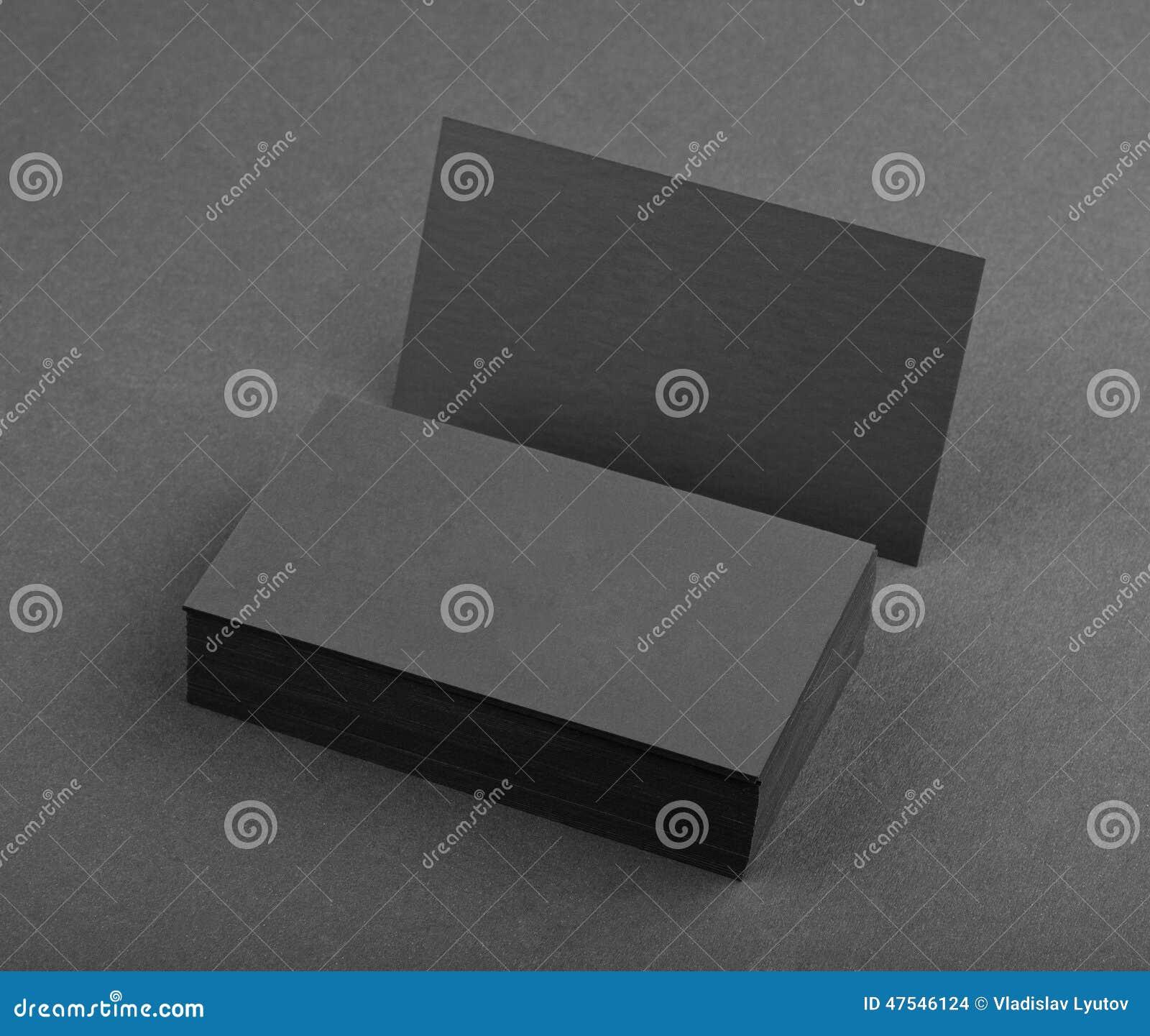 Diseño de la identidad, plantillas corporativas, estilo de la compañía, busin negro