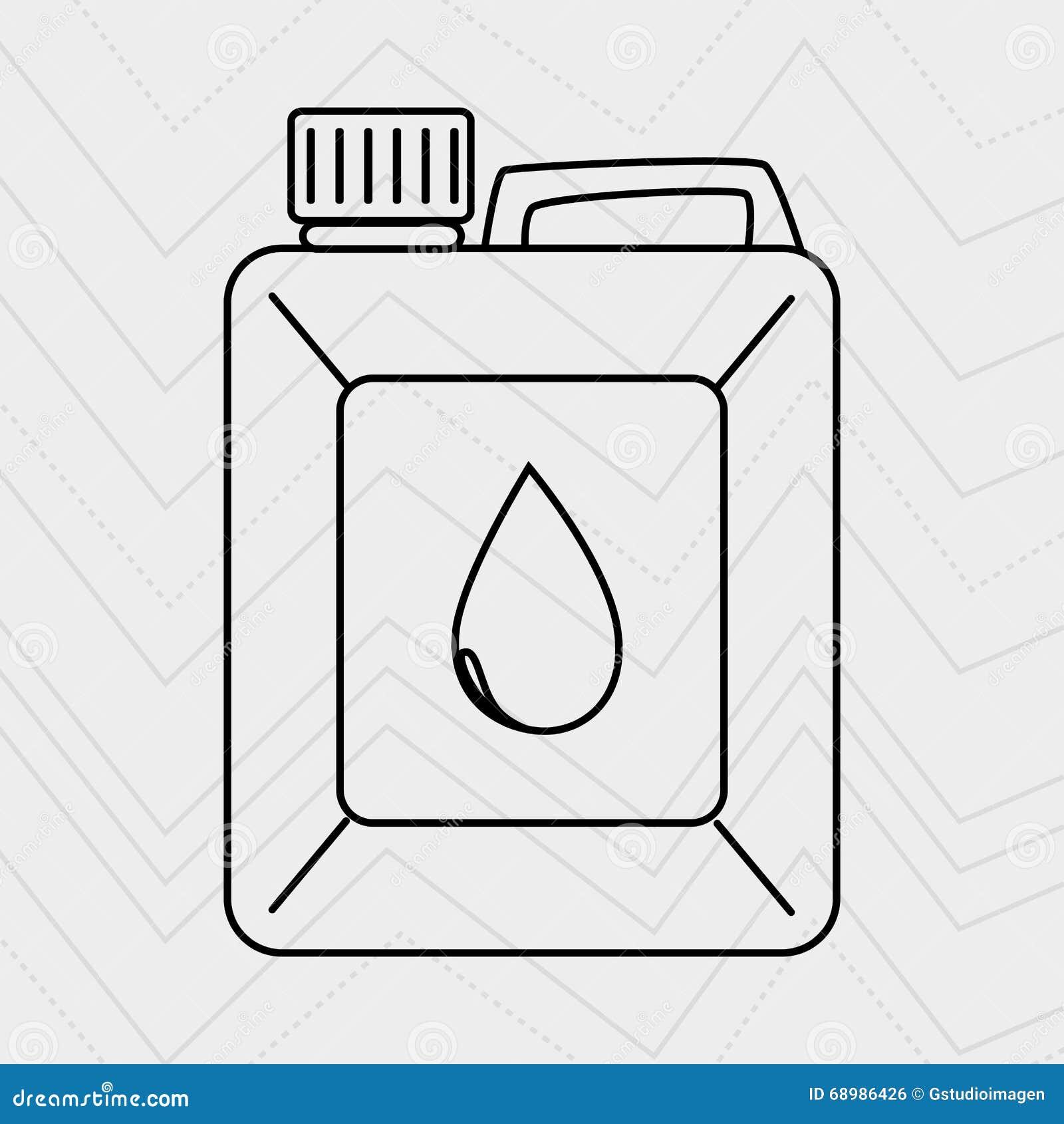 Diseño de la industria de petróleo