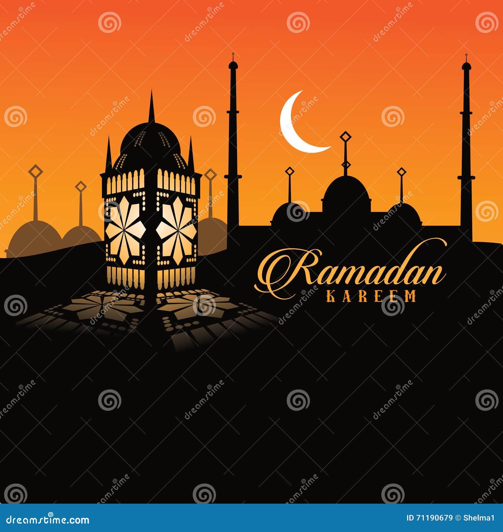Diseño de la linterna del Ramadán