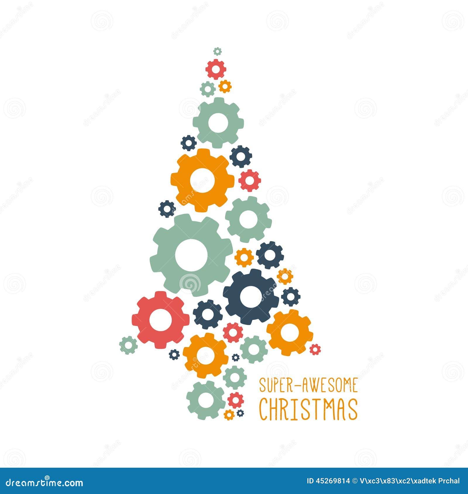 Diseño de la Navidad del vector