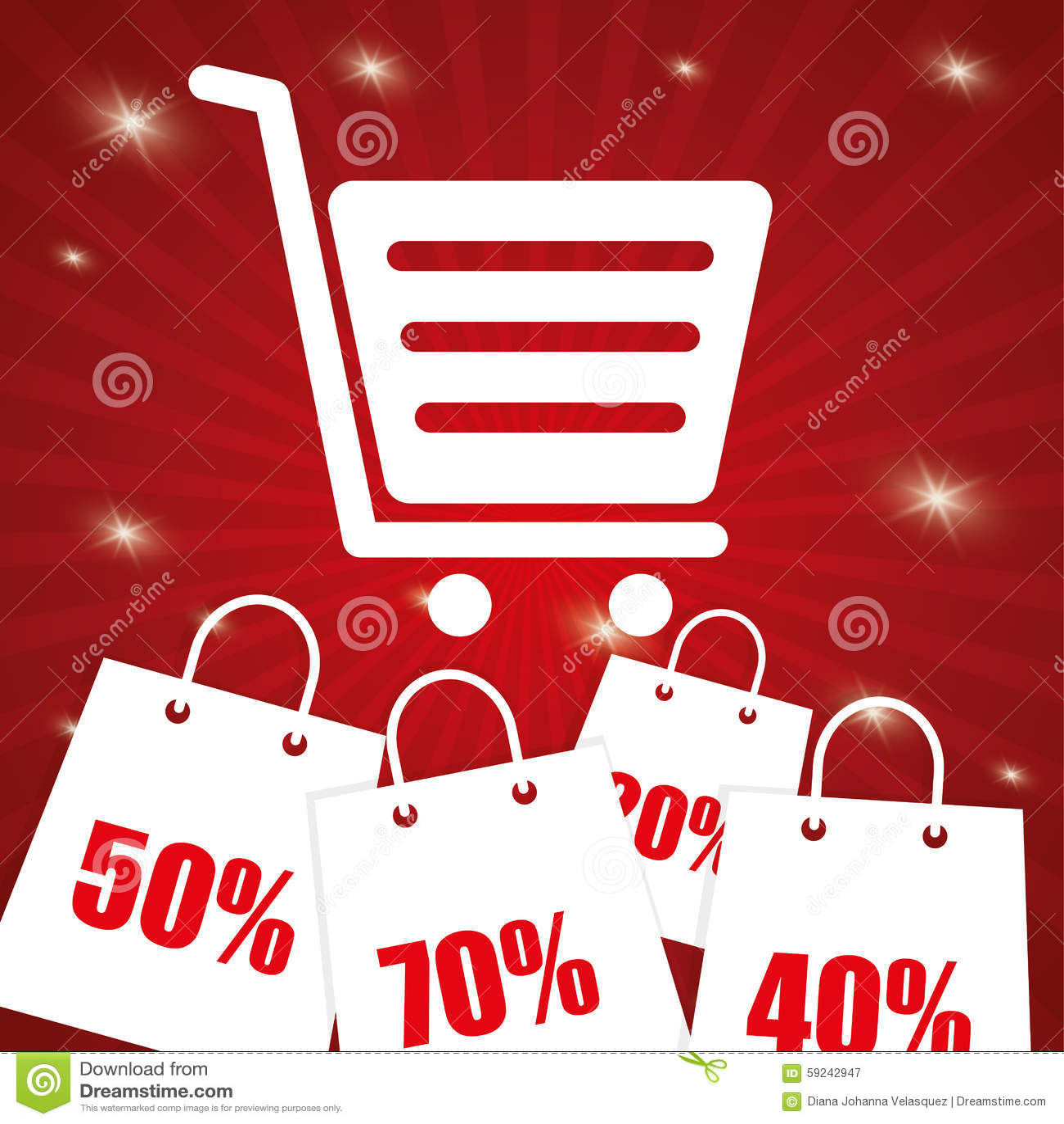 Download Diseño De La Oferta Especial Ilustración del Vector - Ilustración de comercialización, precio: 59242947