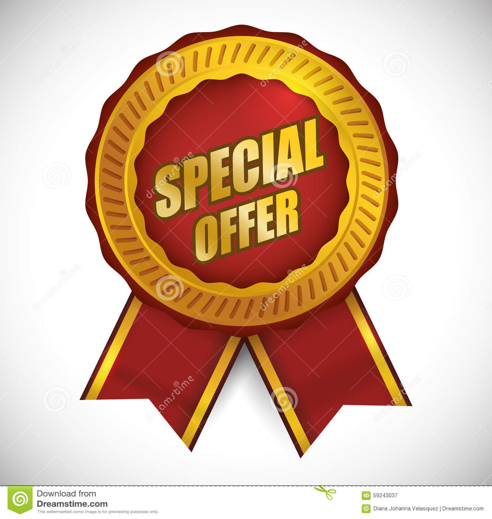 Download Diseño De La Oferta Especial Ilustración del Vector - Ilustración de promoción, promo: 59243037