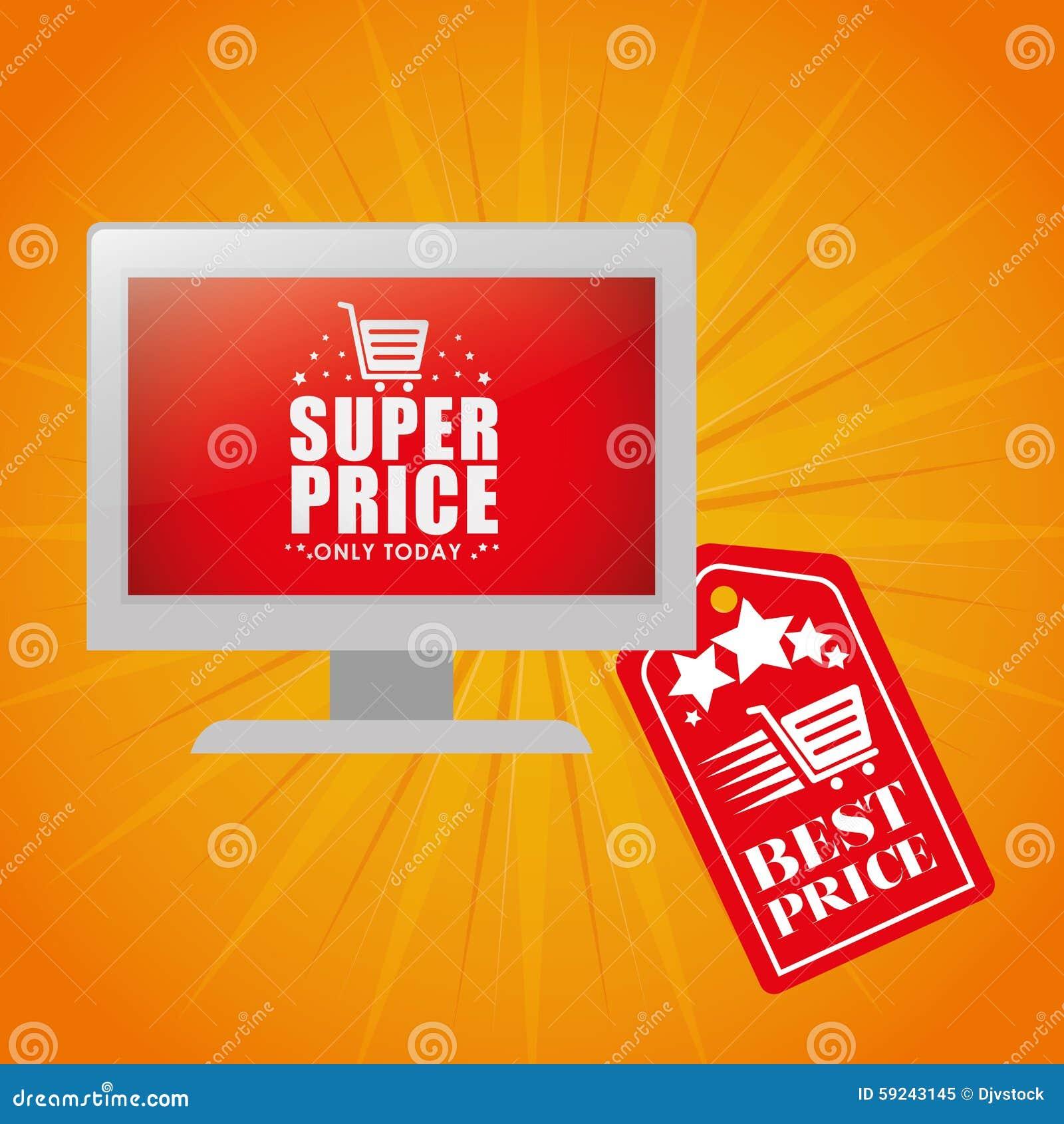 Download Diseño De La Oferta Especial Ilustración del Vector - Ilustración de retail, promoción: 59243145
