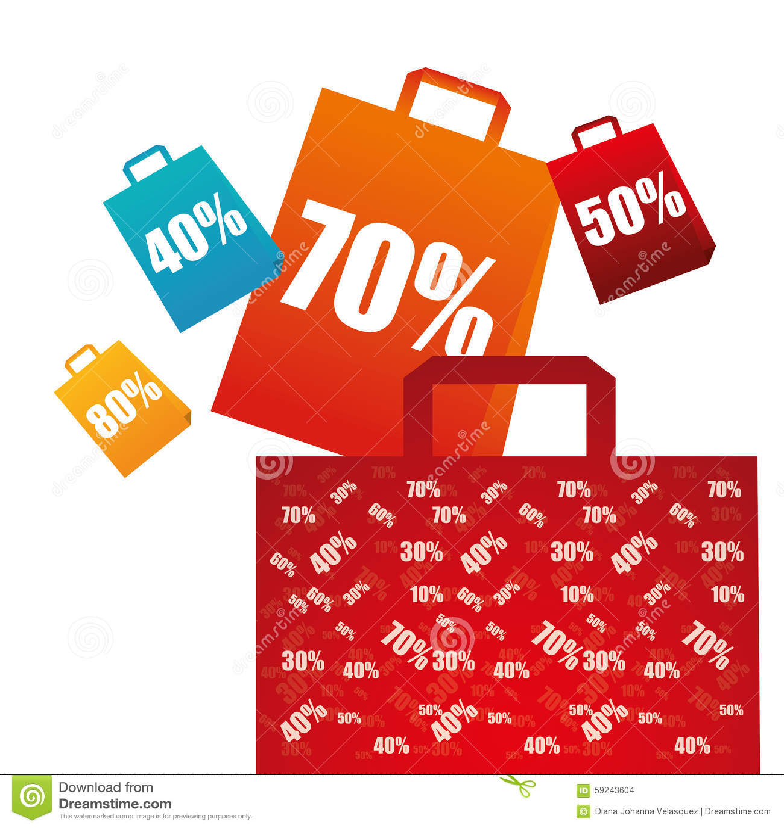 Download Diseño De La Oferta Especial Ilustración del Vector - Ilustración de compra, promo: 59243604