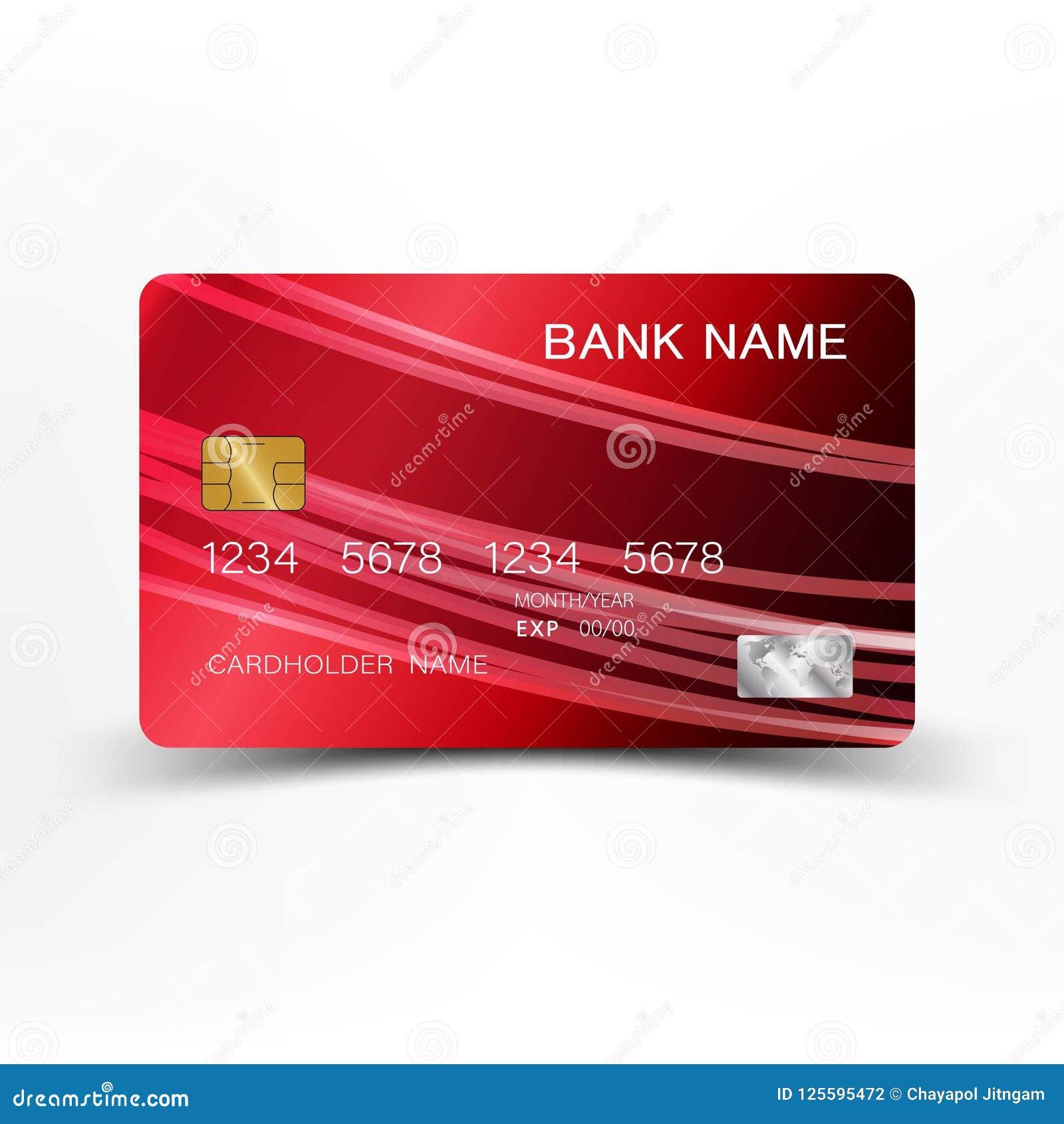 Diseño de la tarjeta de crédito