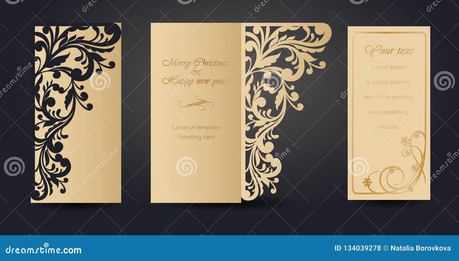 Diseño De La Tarjeta De Felicitación De La Navidad Para El