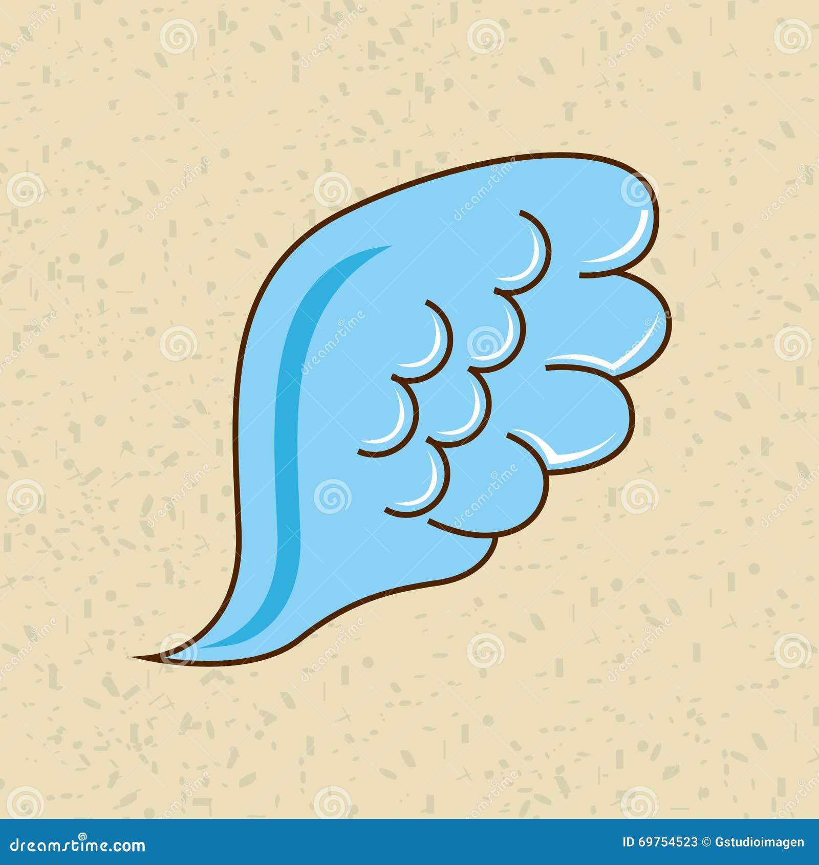 Diseño de las alas de los ángeles