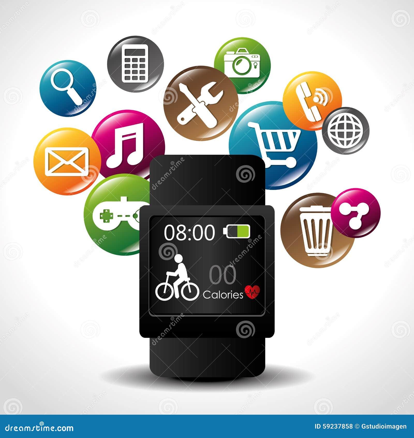 Download Diseño De Las Aplicaciones Móviles Del Comercio Electrónico Y Del Mercado Ilustración del Vector - Ilustración de compra, ilustración: 59237858