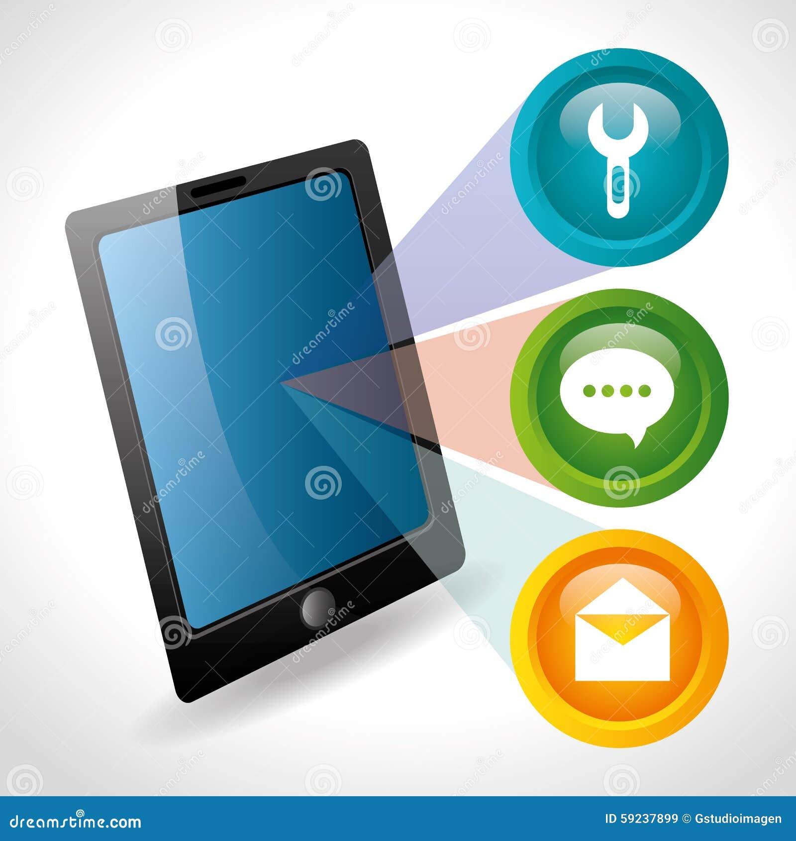 Download Diseño De Las Aplicaciones Móviles Del Comercio Electrónico Y Del Mercado Ilustración del Vector - Ilustración de departamento, conecte: 59237899