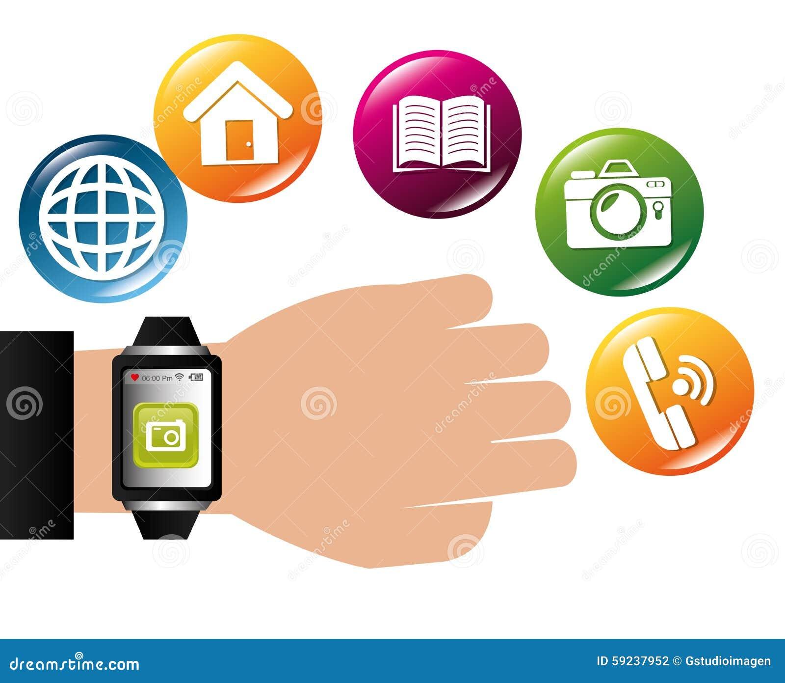 Download Diseño De Las Aplicaciones Móviles Del Comercio Electrónico Y Del Mercado Ilustración del Vector - Ilustración de media, teléfono: 59237952