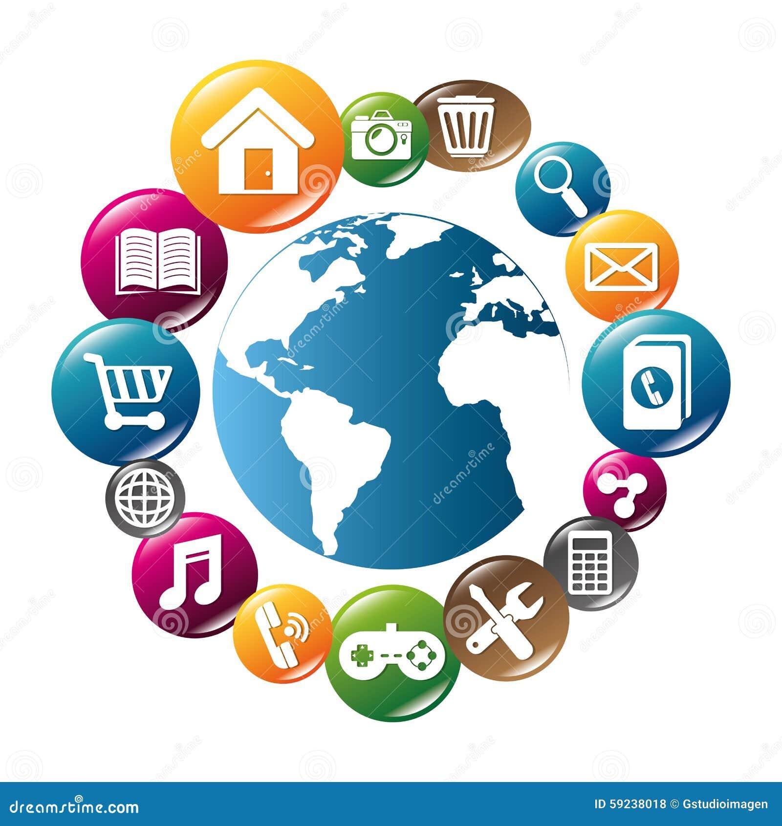 Download Diseño De Las Aplicaciones Móviles Del Comercio Electrónico Y Del Mercado Ilustración del Vector - Ilustración de economía, comercialización: 59238018