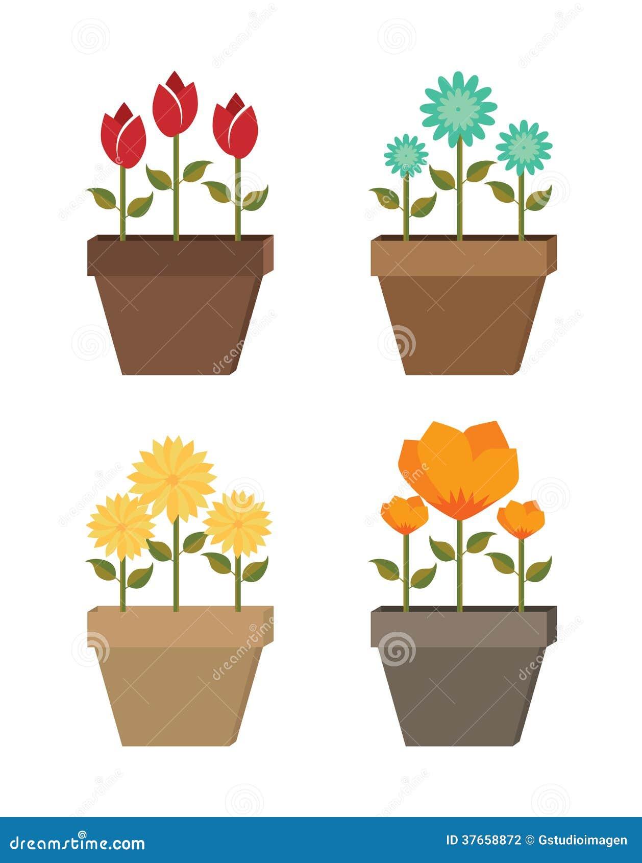 Diseño de las flores