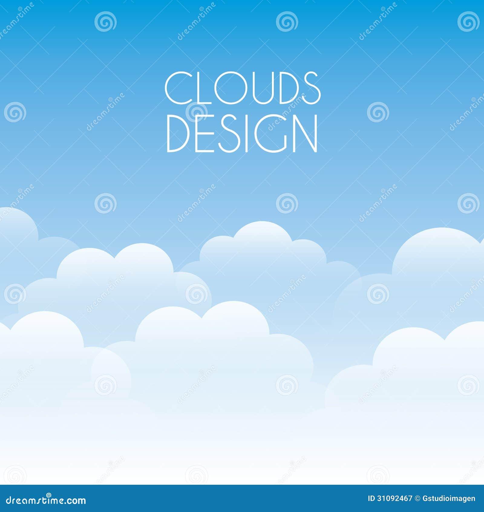 Diseño de las nubes