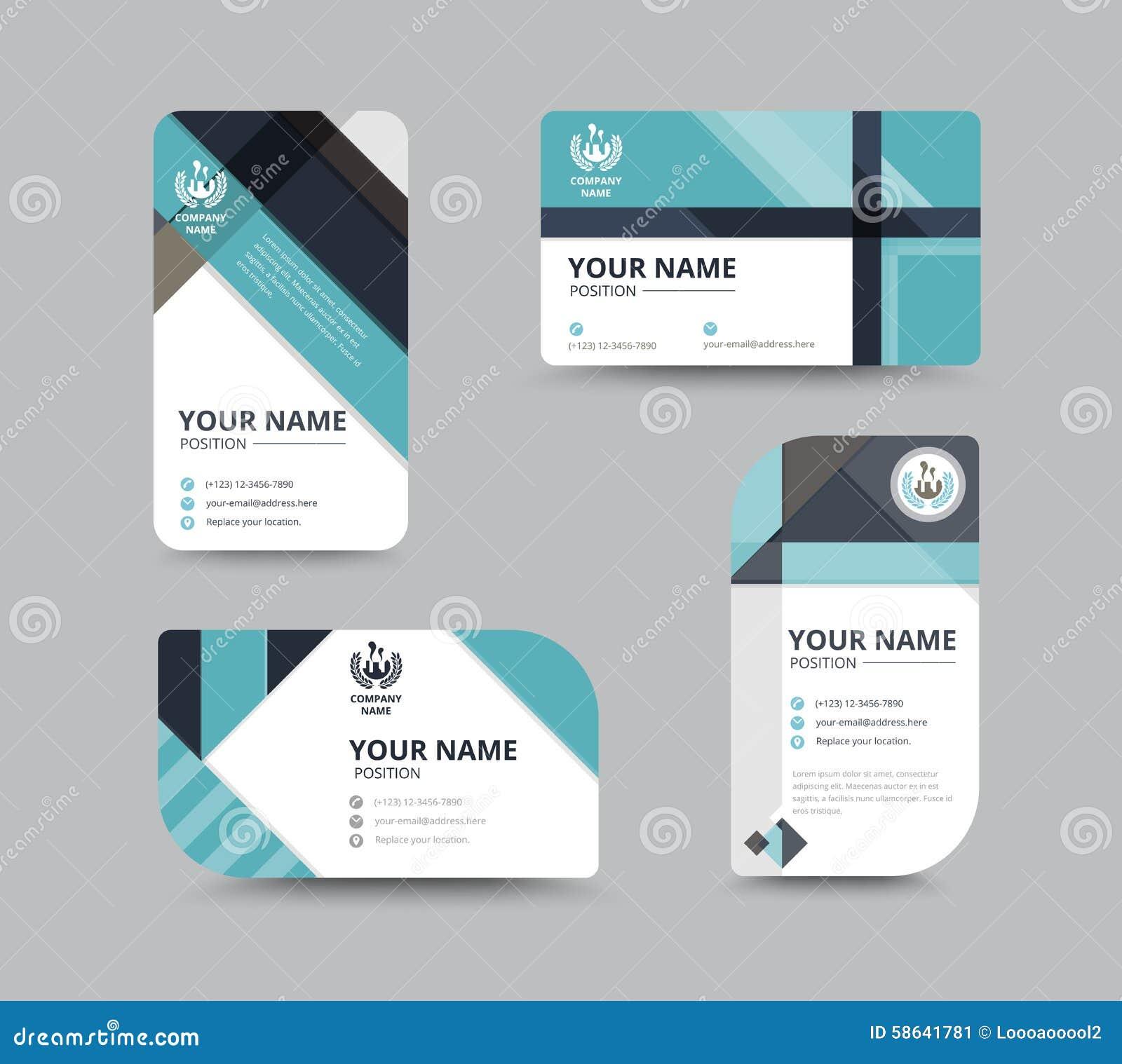 Dise o de tarjeta de presentaci n del negocio para la - Disenos para tarjetas ...