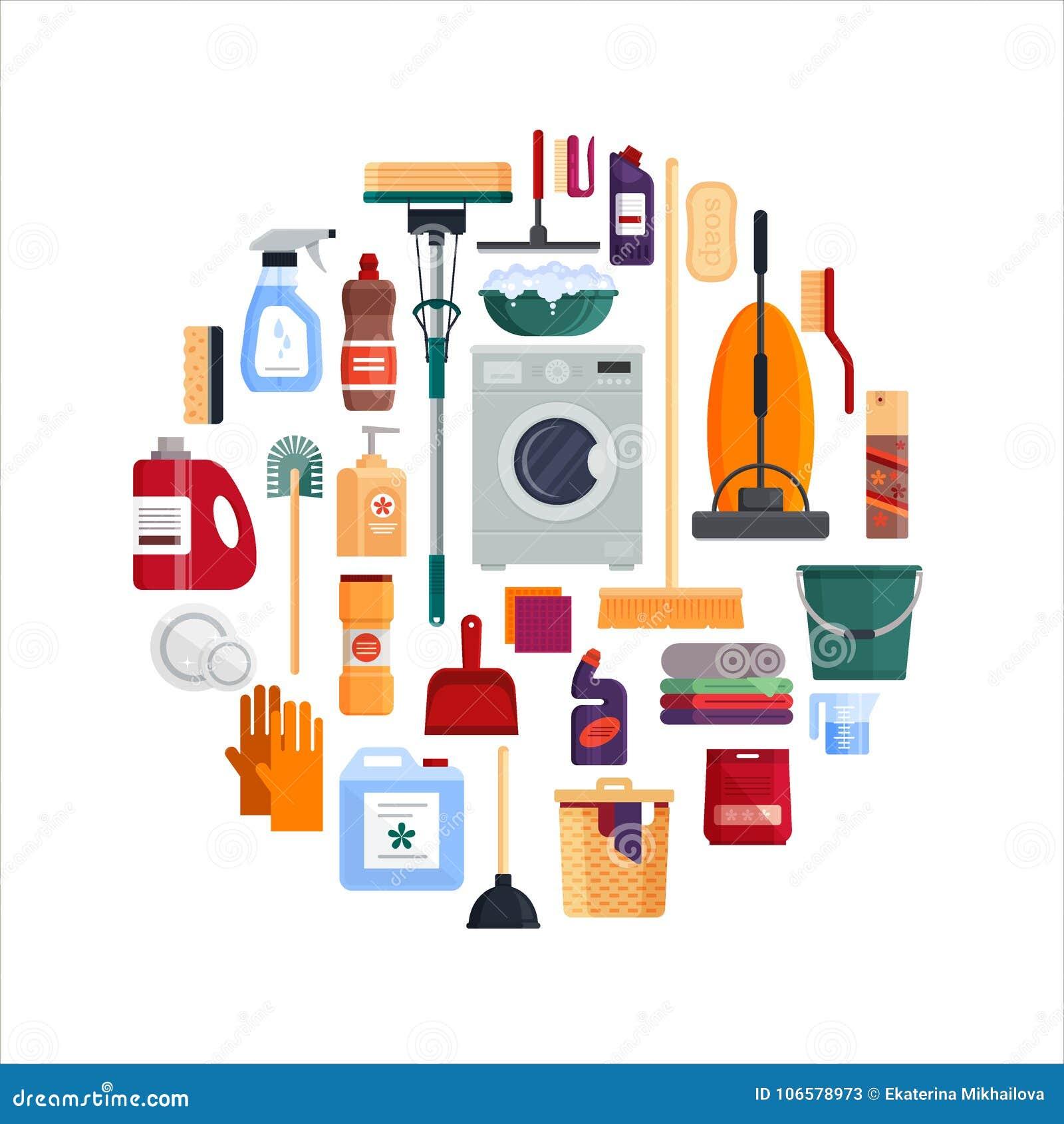 Limpieza a fondo casa fondo de limpieza de la casa con - Limpieza a fondo casa ...