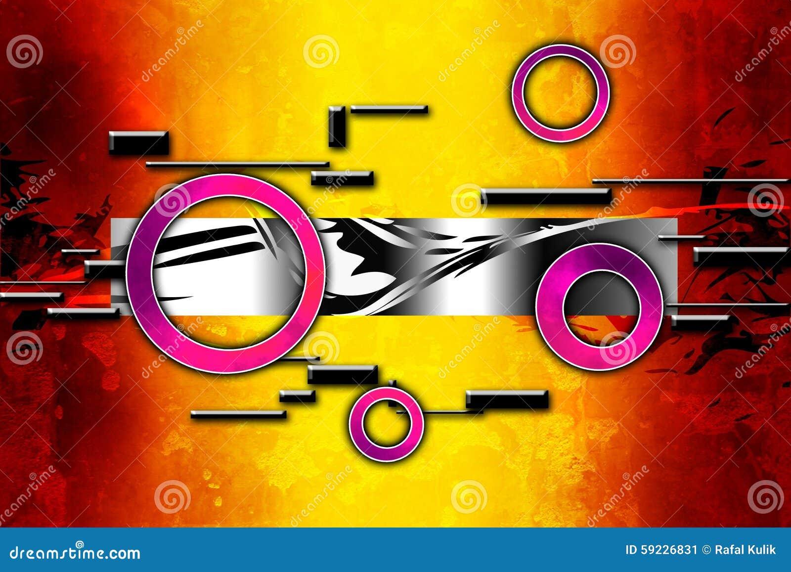 Diseño del color de la abstracción