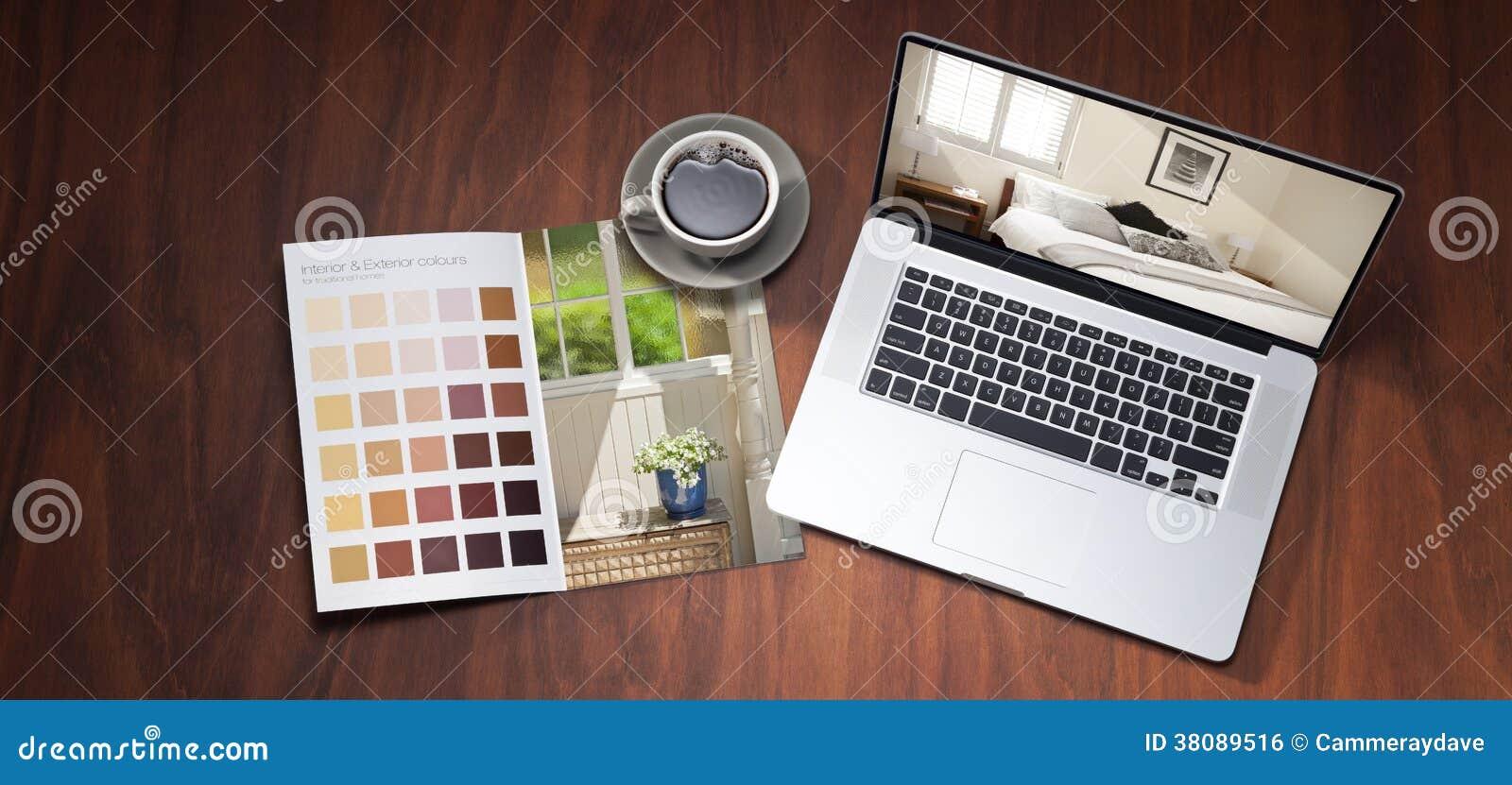 Diseño del color del ordenador de la renovación