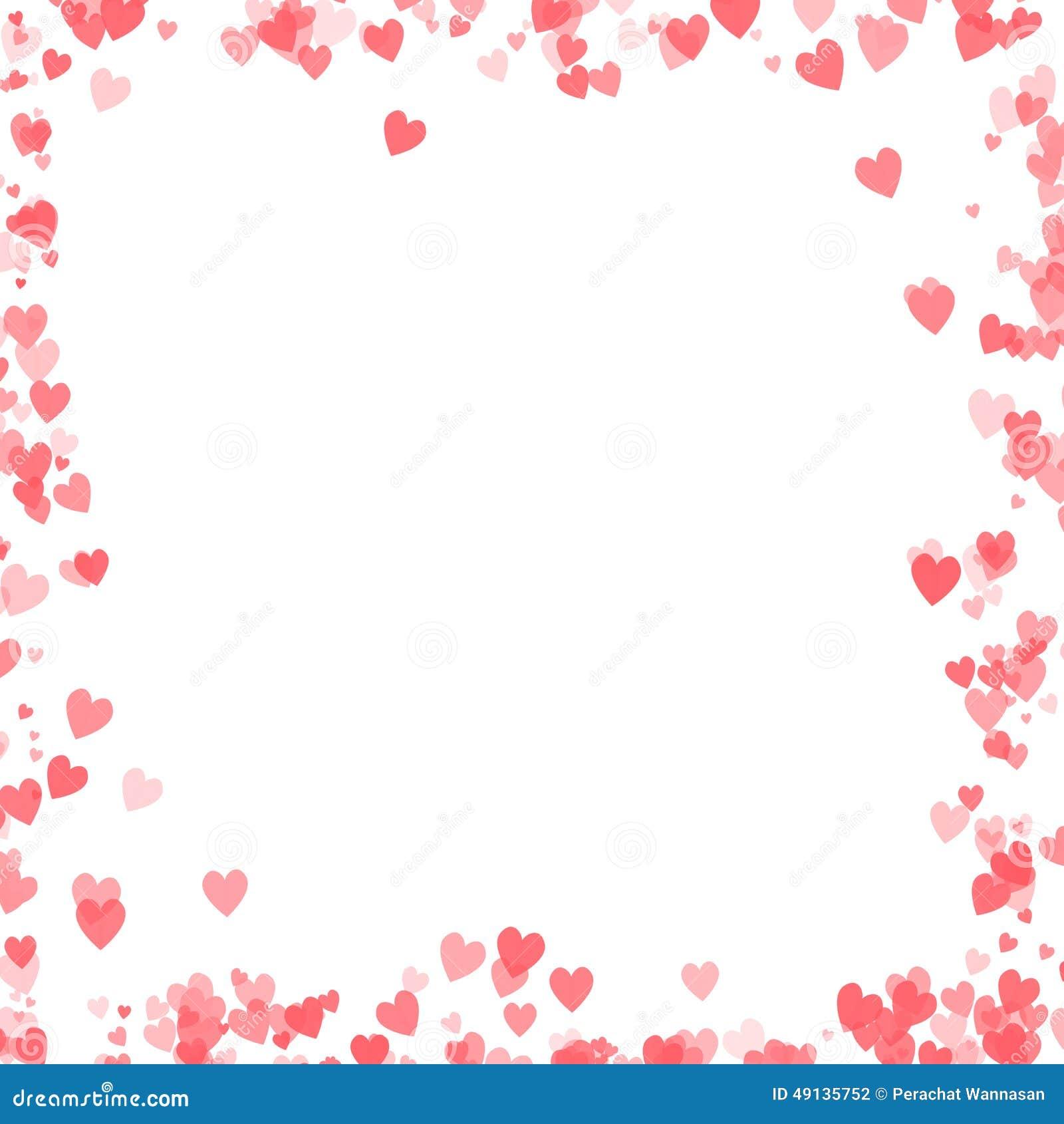Diseño Del Día De Tarjetas Del Día De San Valentín Con El Fondo De ...