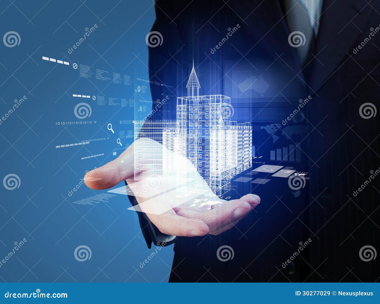 Diseño del edificio de la automatización de la ingeniería