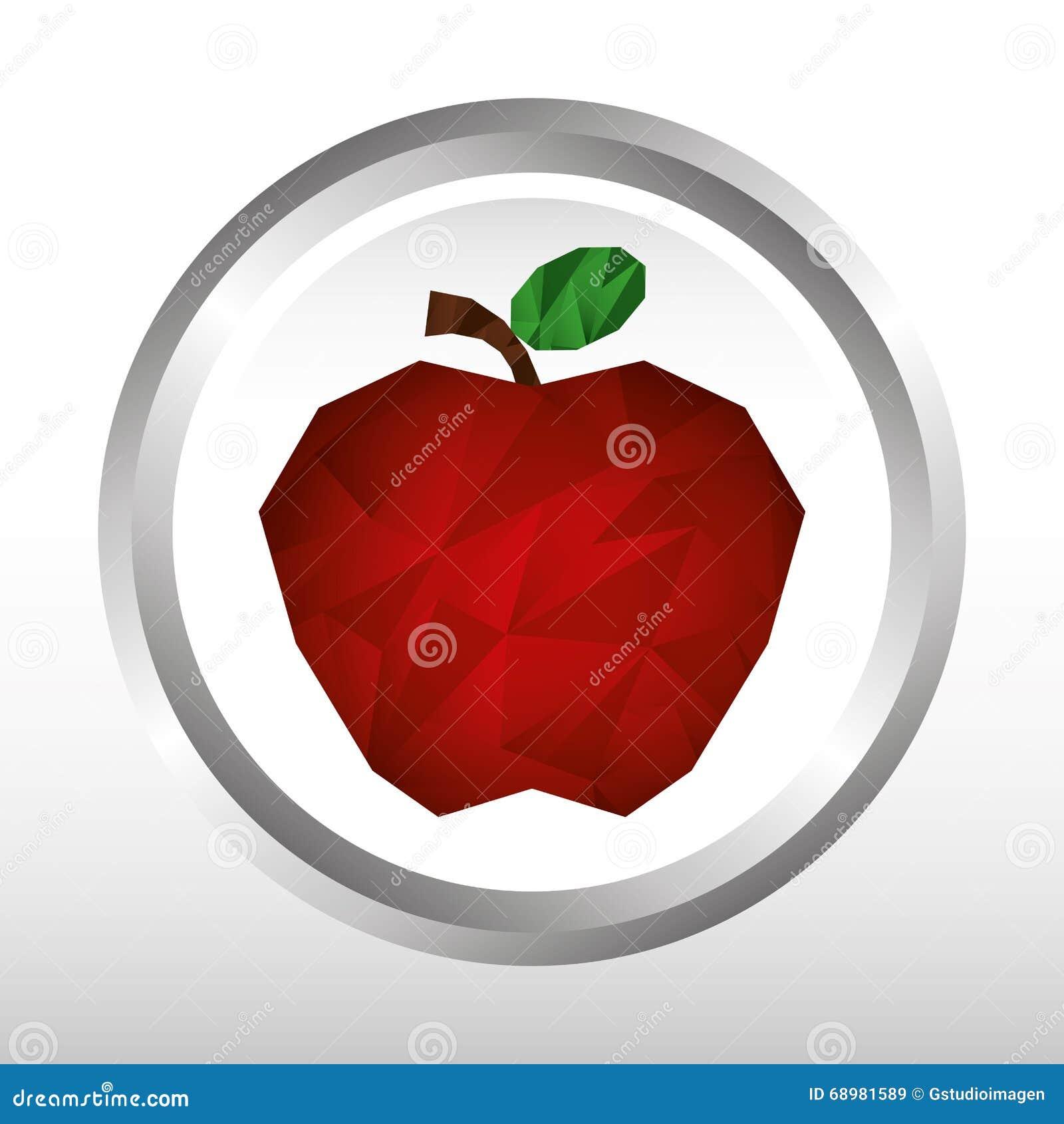 Diseño del icono de la fruta
