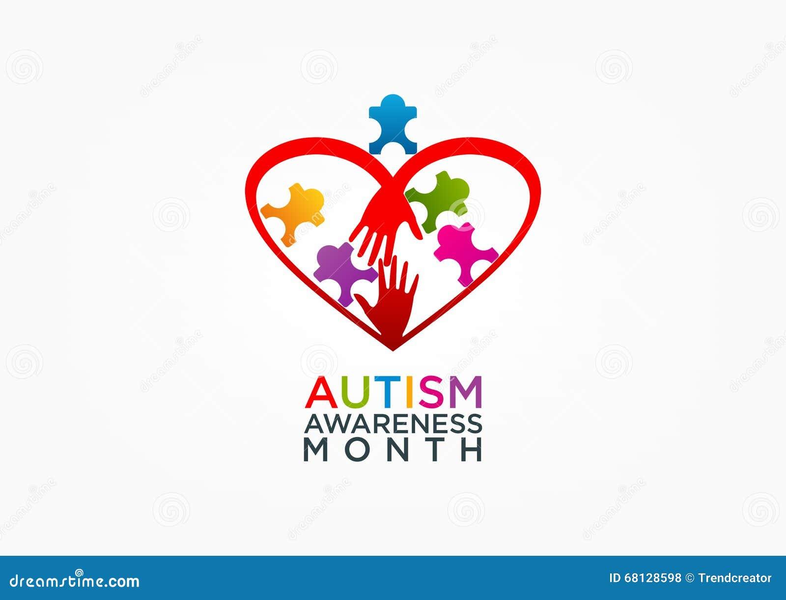 Diseño del logotipo del autismo