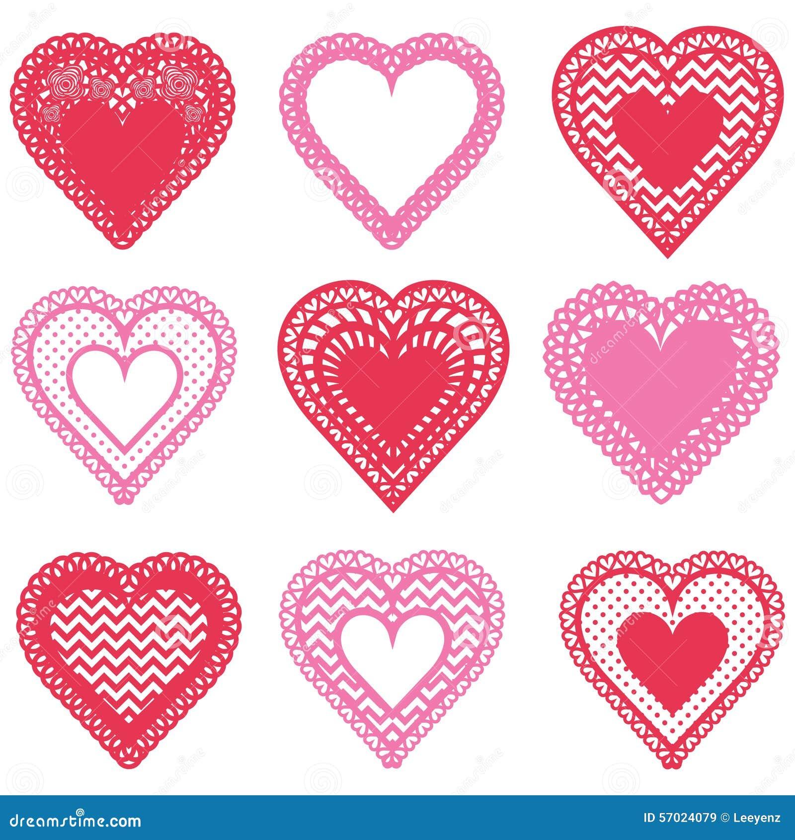Diseño del modelo de la forma de los corazones