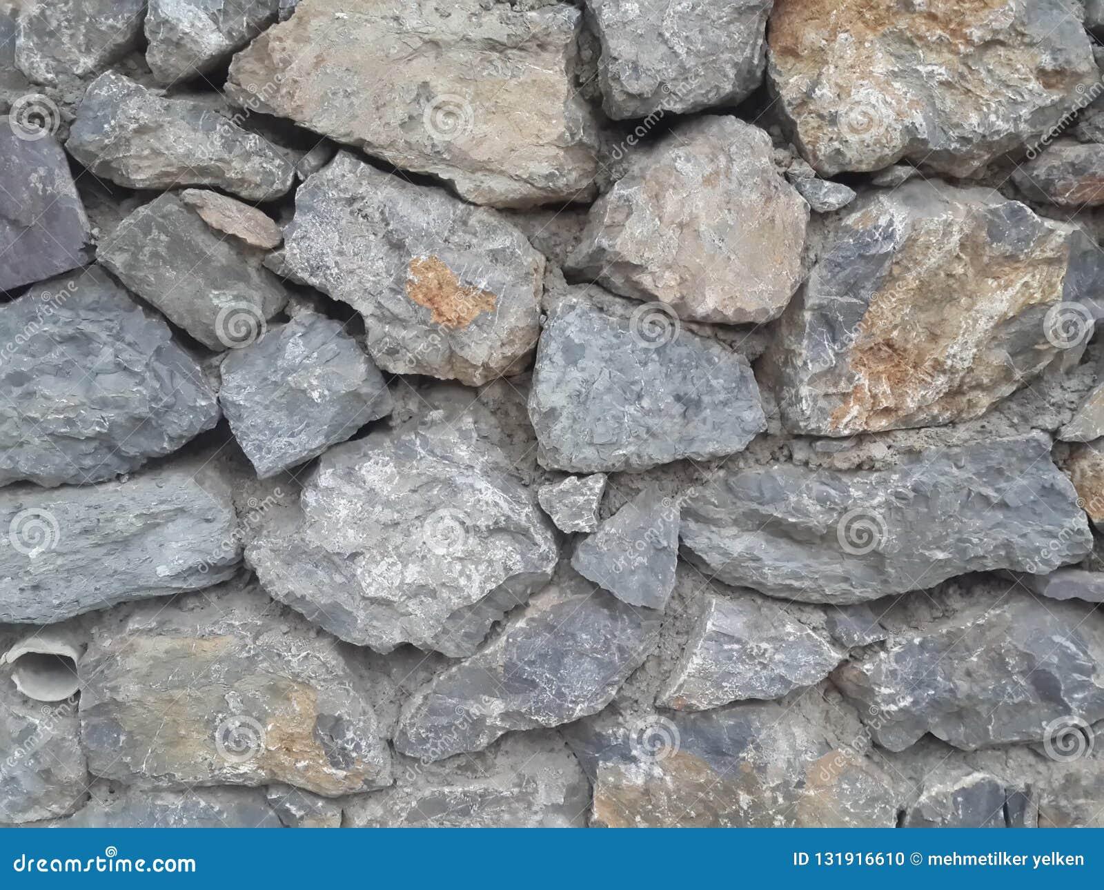 Papel Mural Con Diseno De Piedras