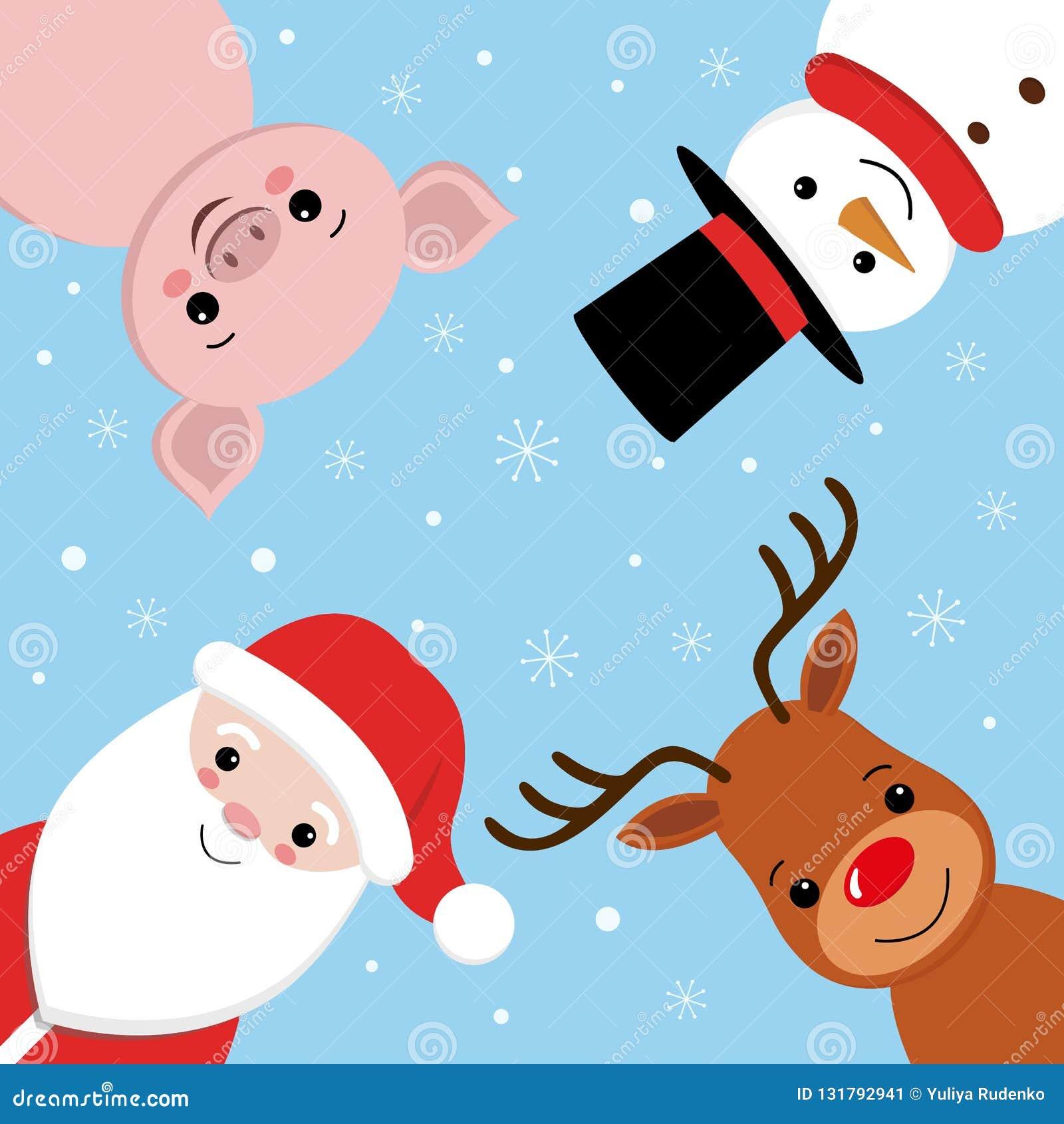 Dibujos De Navidad Creativos.Diseno Del Prospecto De La Feliz Navidad Letras Creativas