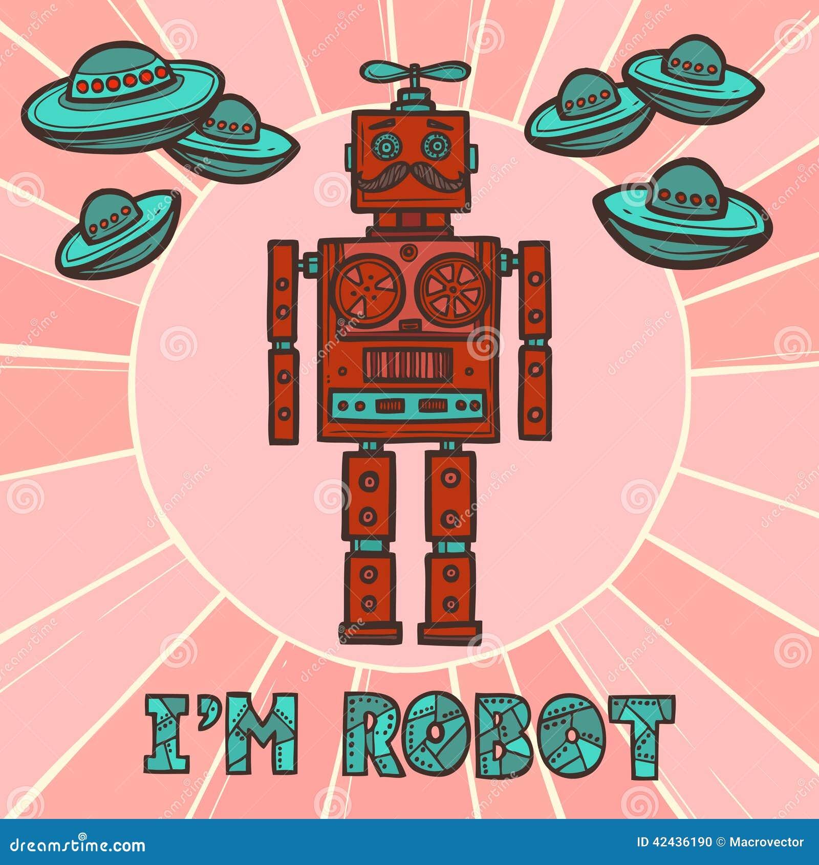 Diseño del robot del inconformista