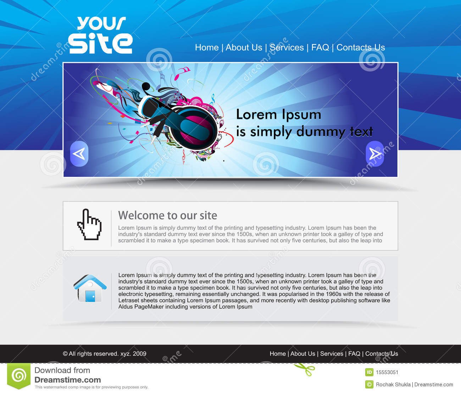 Diseño del Web site