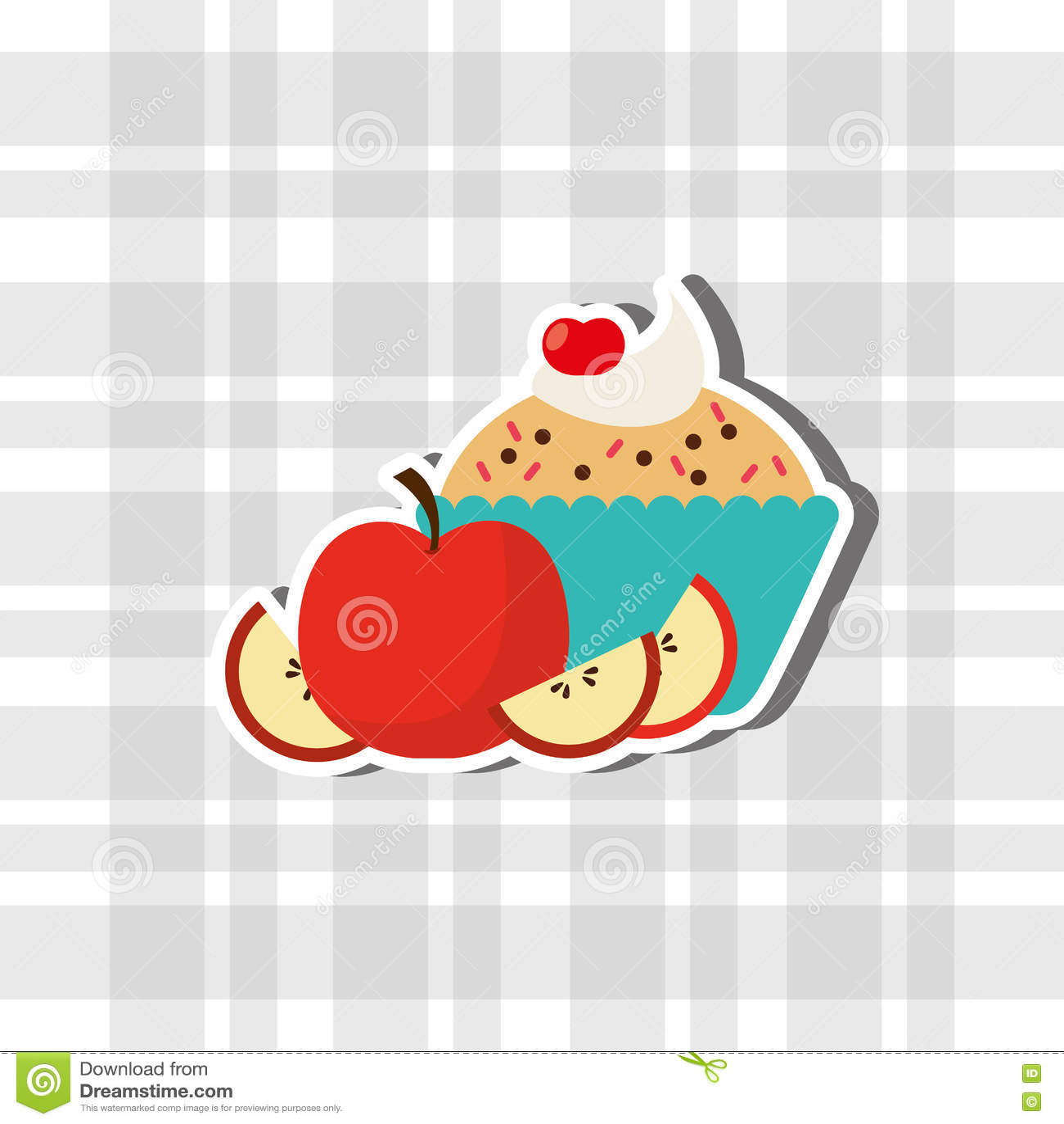 Diseño delicioso de la tienda de pasteles